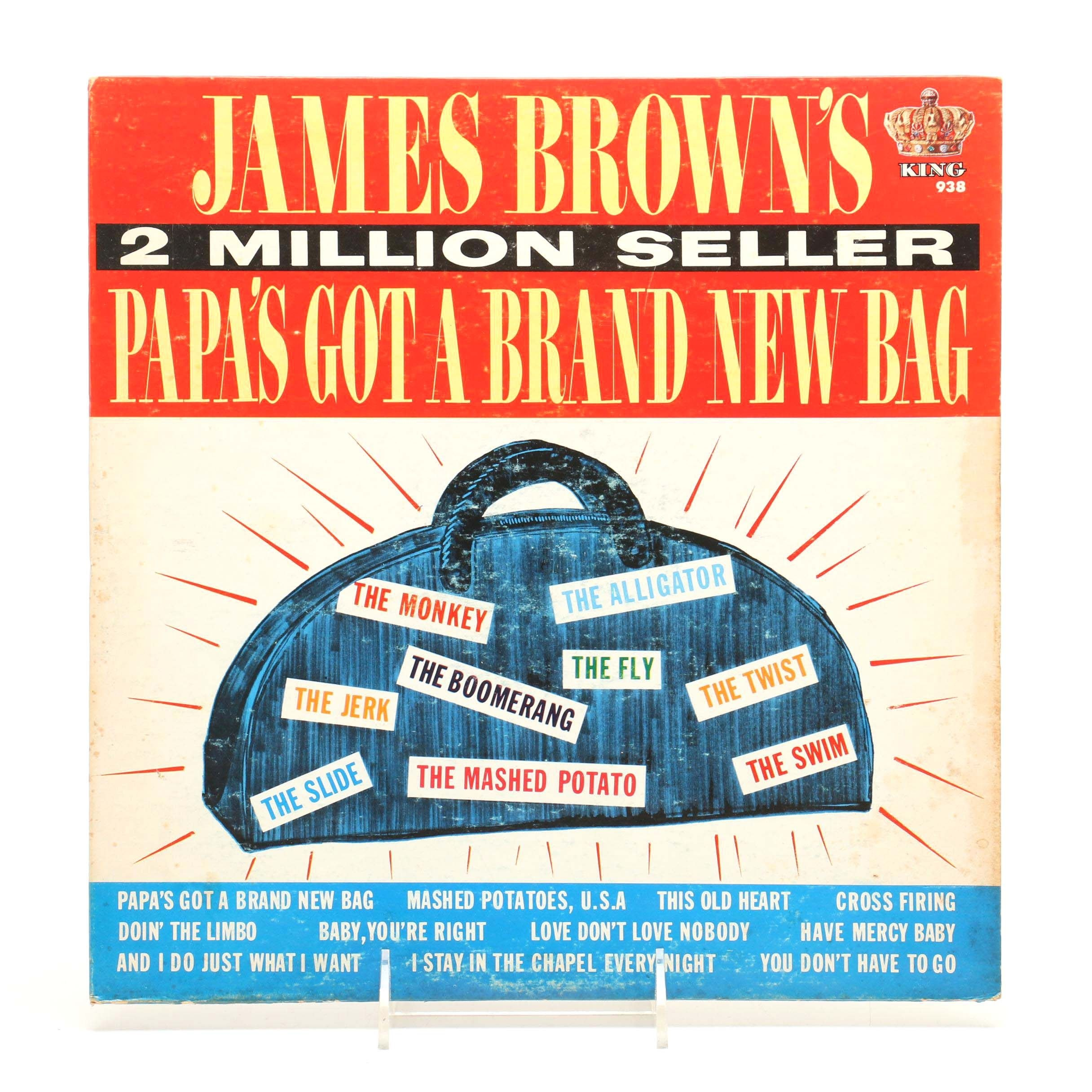 "James Brown ""Papa's Got a Brand New Bag"" King Records LP"