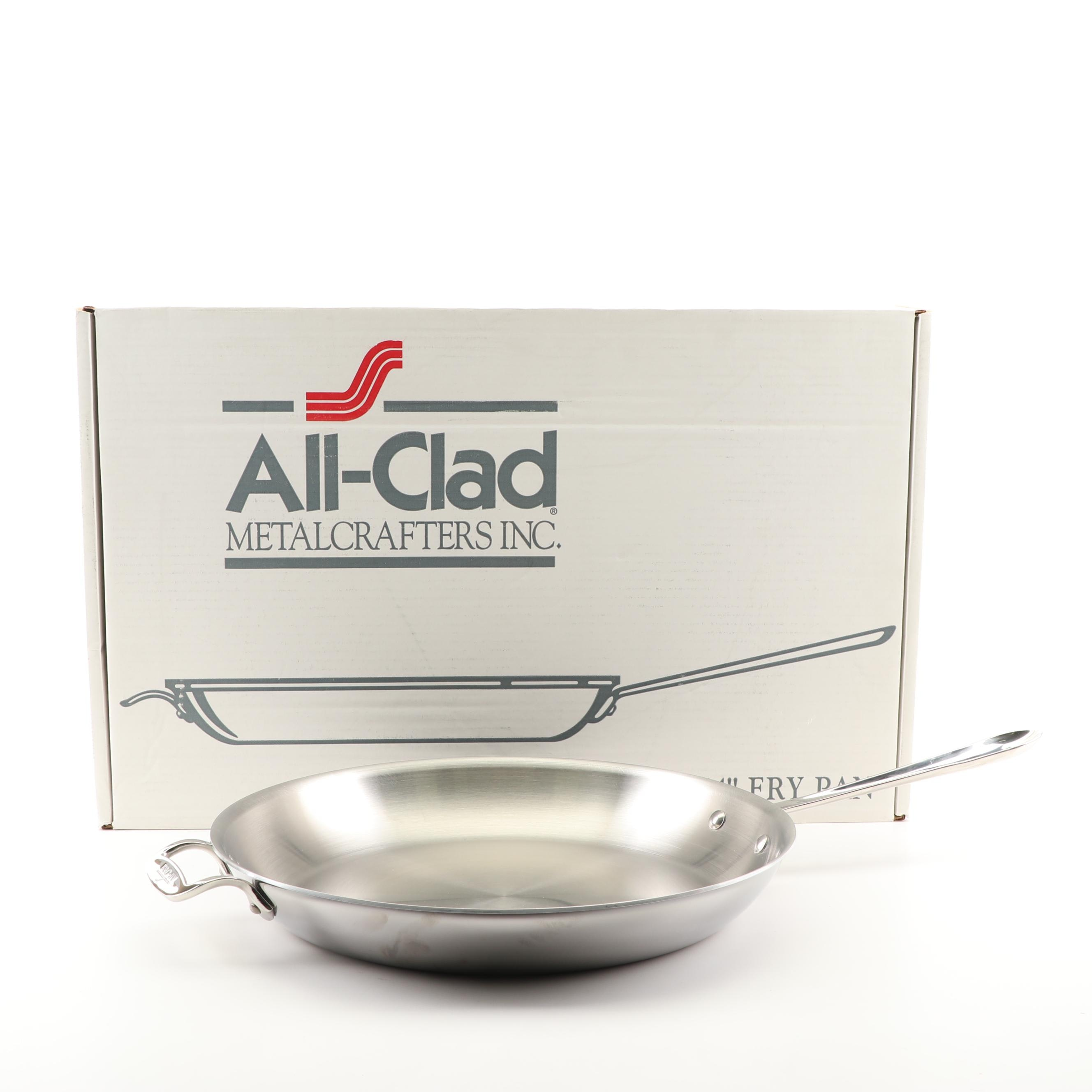 All-Clad Stainless Steel Frying Pan