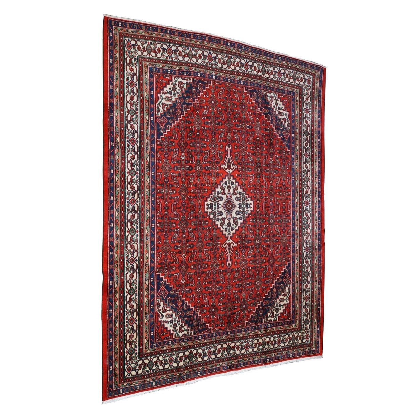 Hand-Knotted Kurdish Gogarjin Wool Room Sized Rug