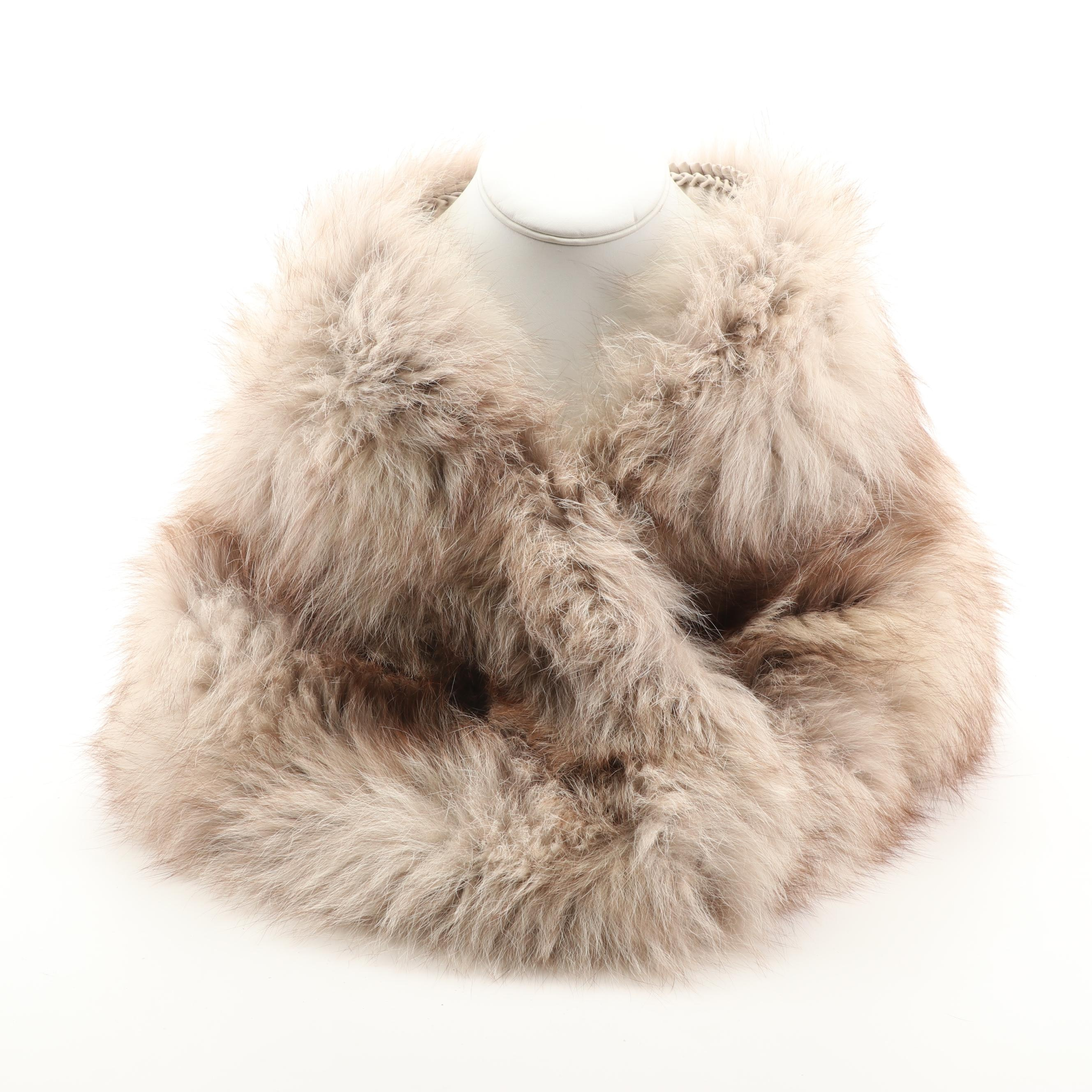 Canada Fur Store Fox Fur Collar