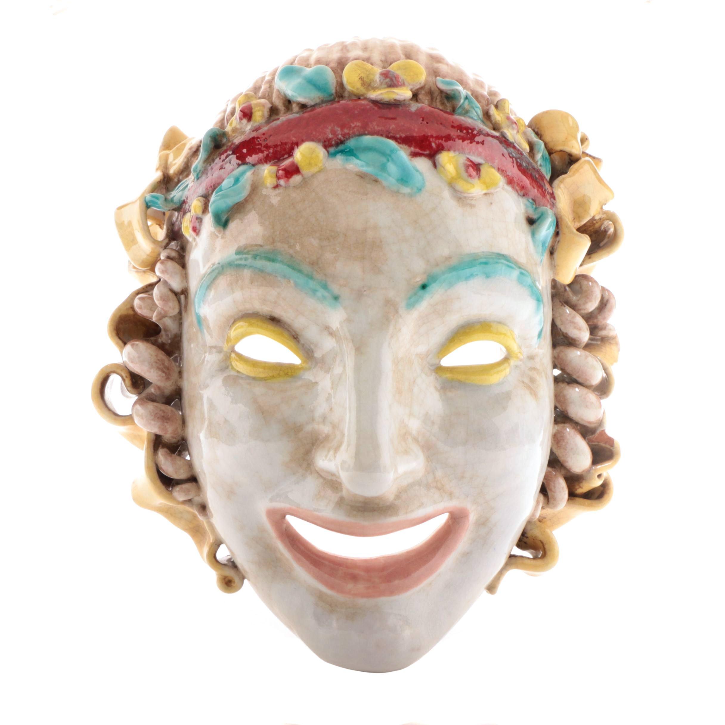 Eugenio Pattarino Ceramic Mask