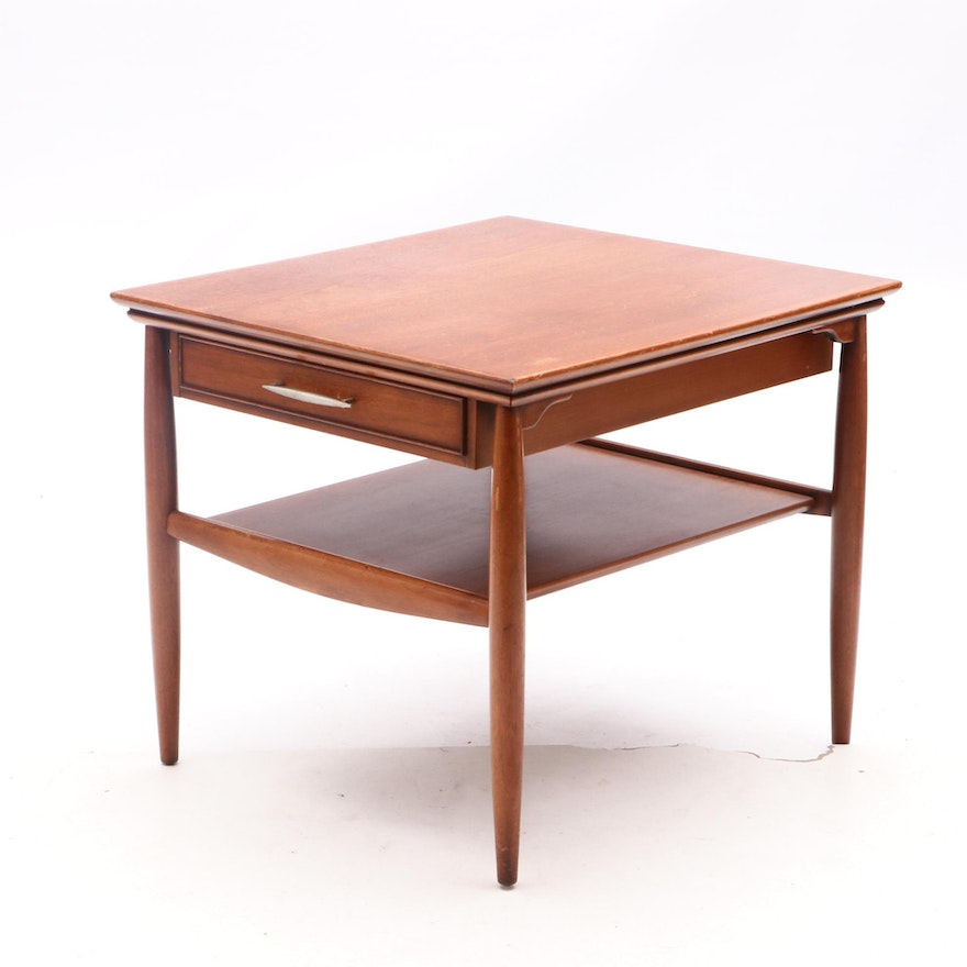 Mid Century Modern Accent Table By Herman Ebth