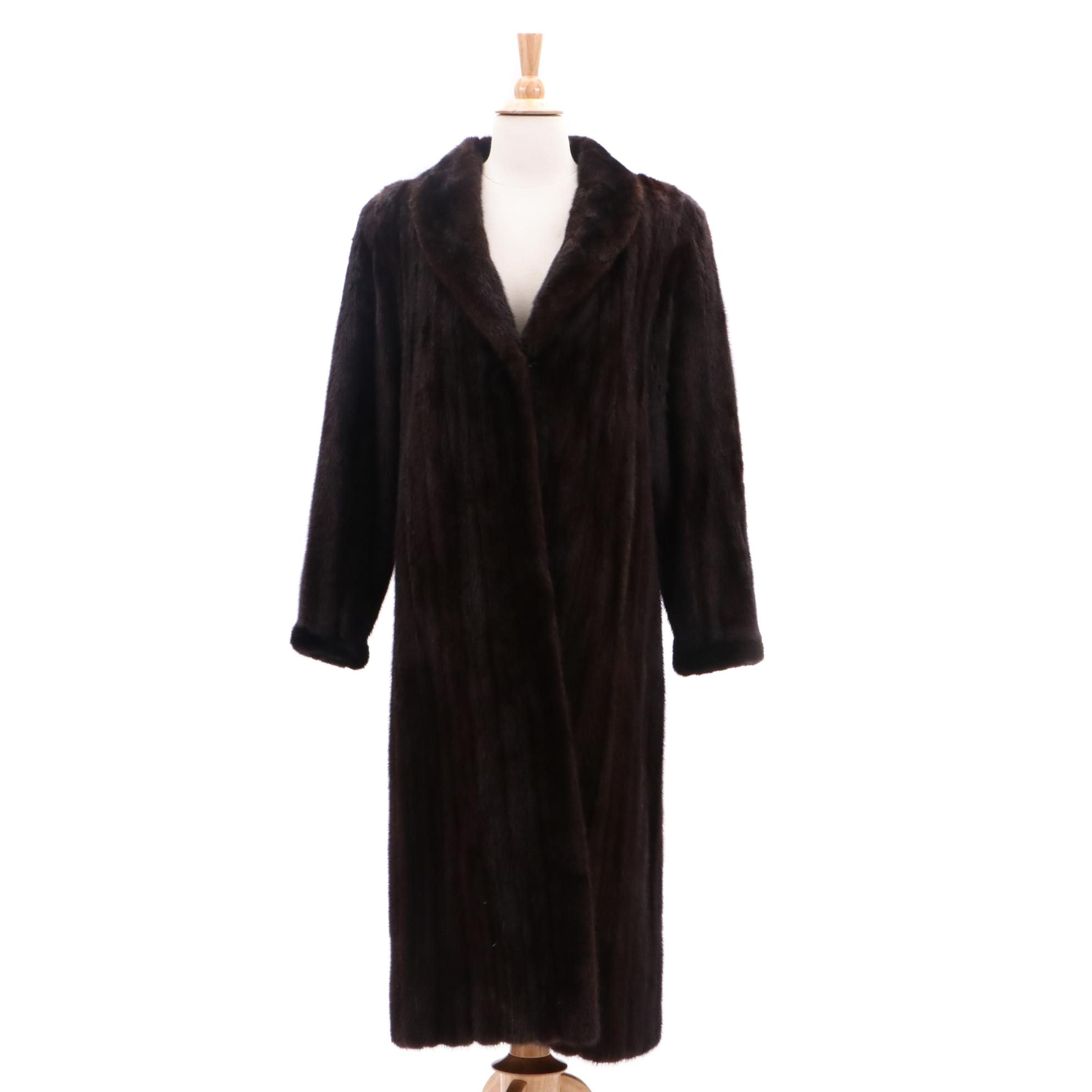 Women's Kotsovos Mink Fur Coat