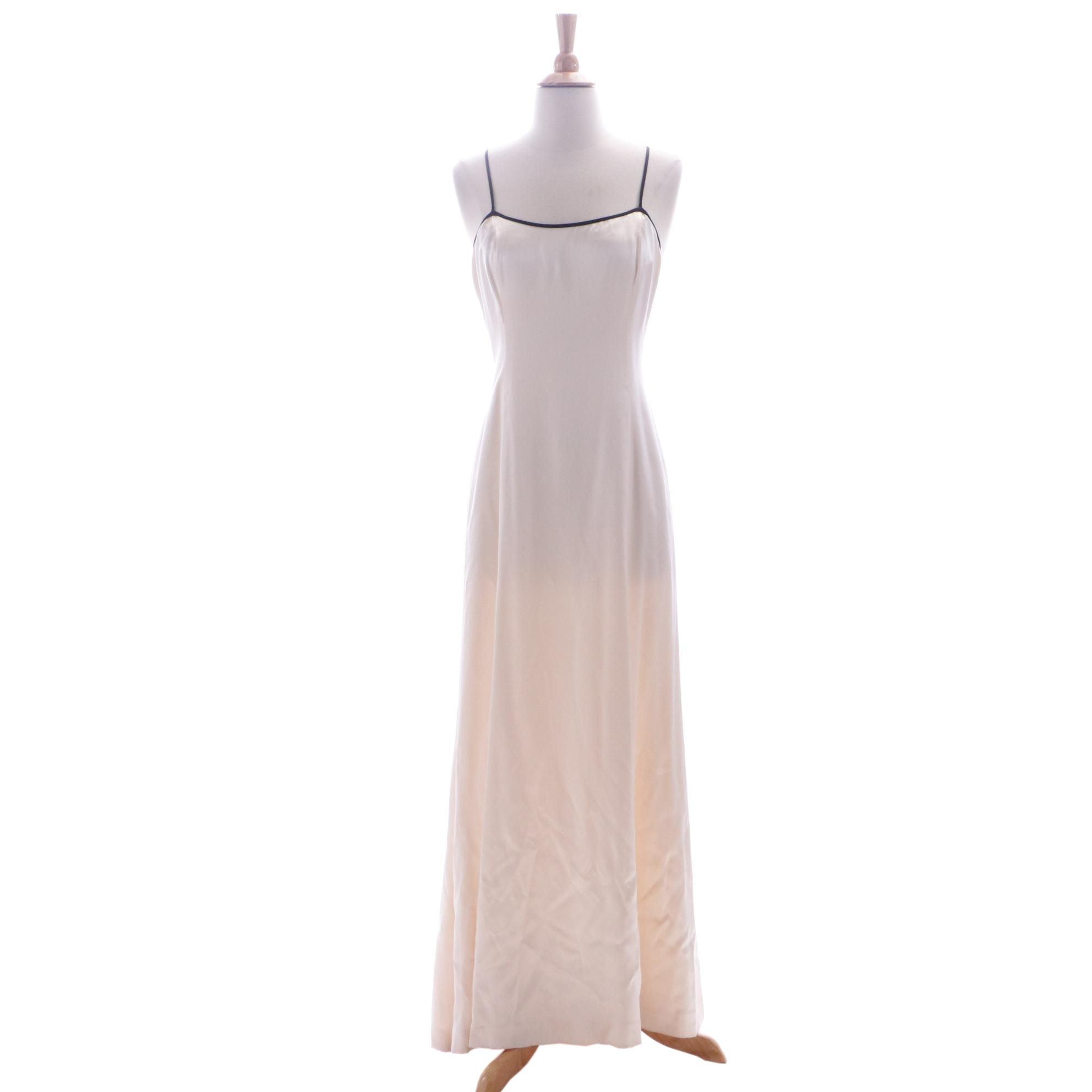 Circa 1990s Chanel Silk Slip Dress