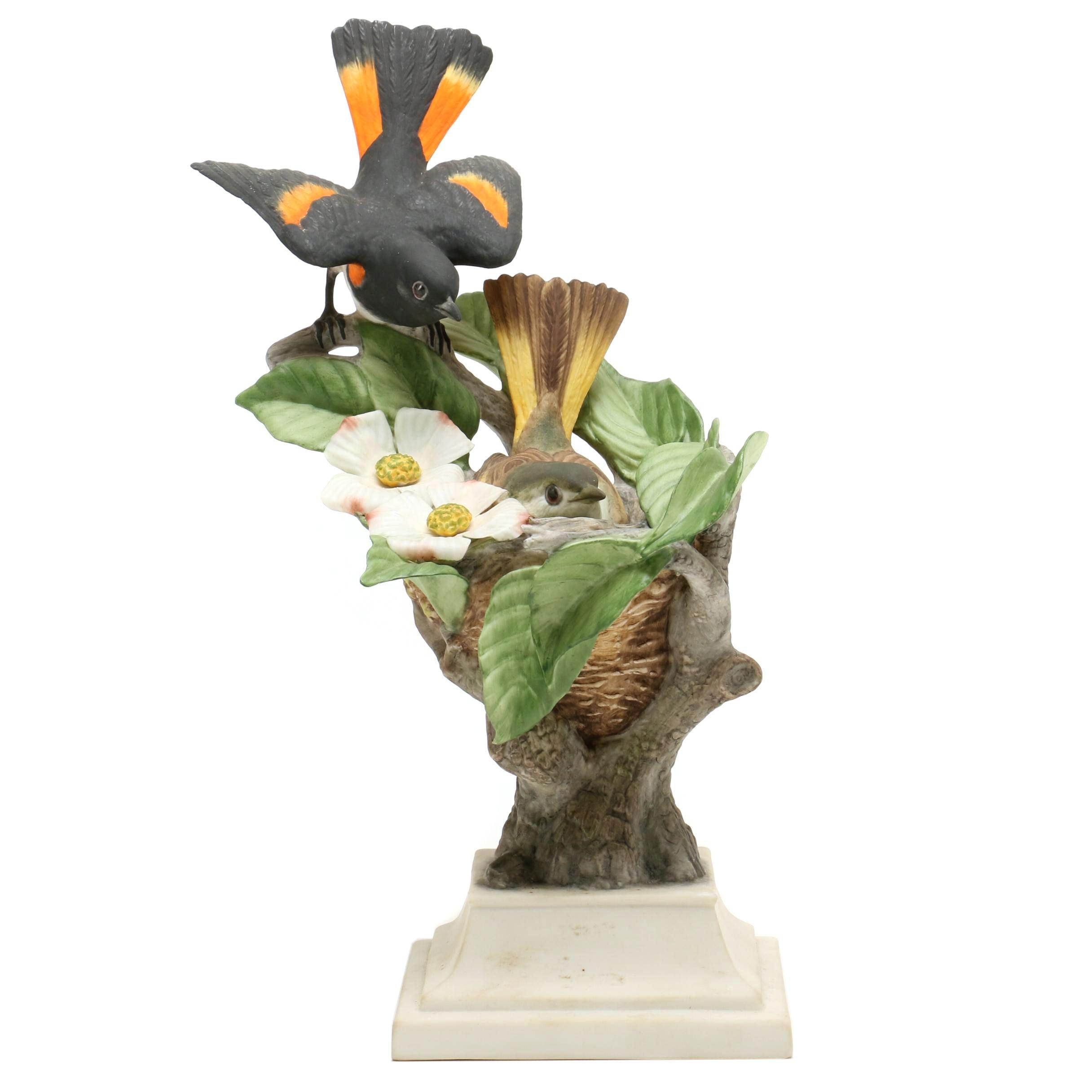 Limited Edition Boehm Sculpture of Oriole Birds