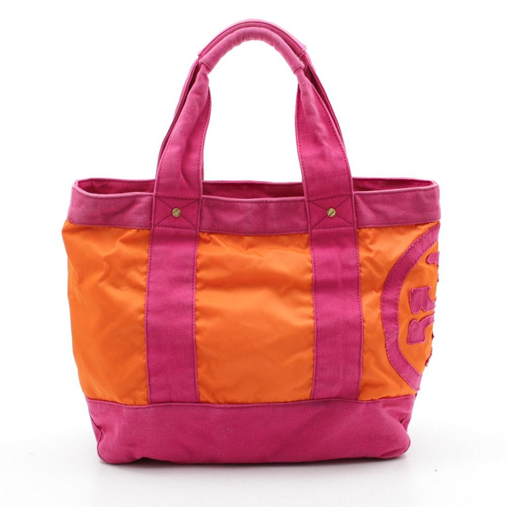 Tory Burch Fabric Tote Bag