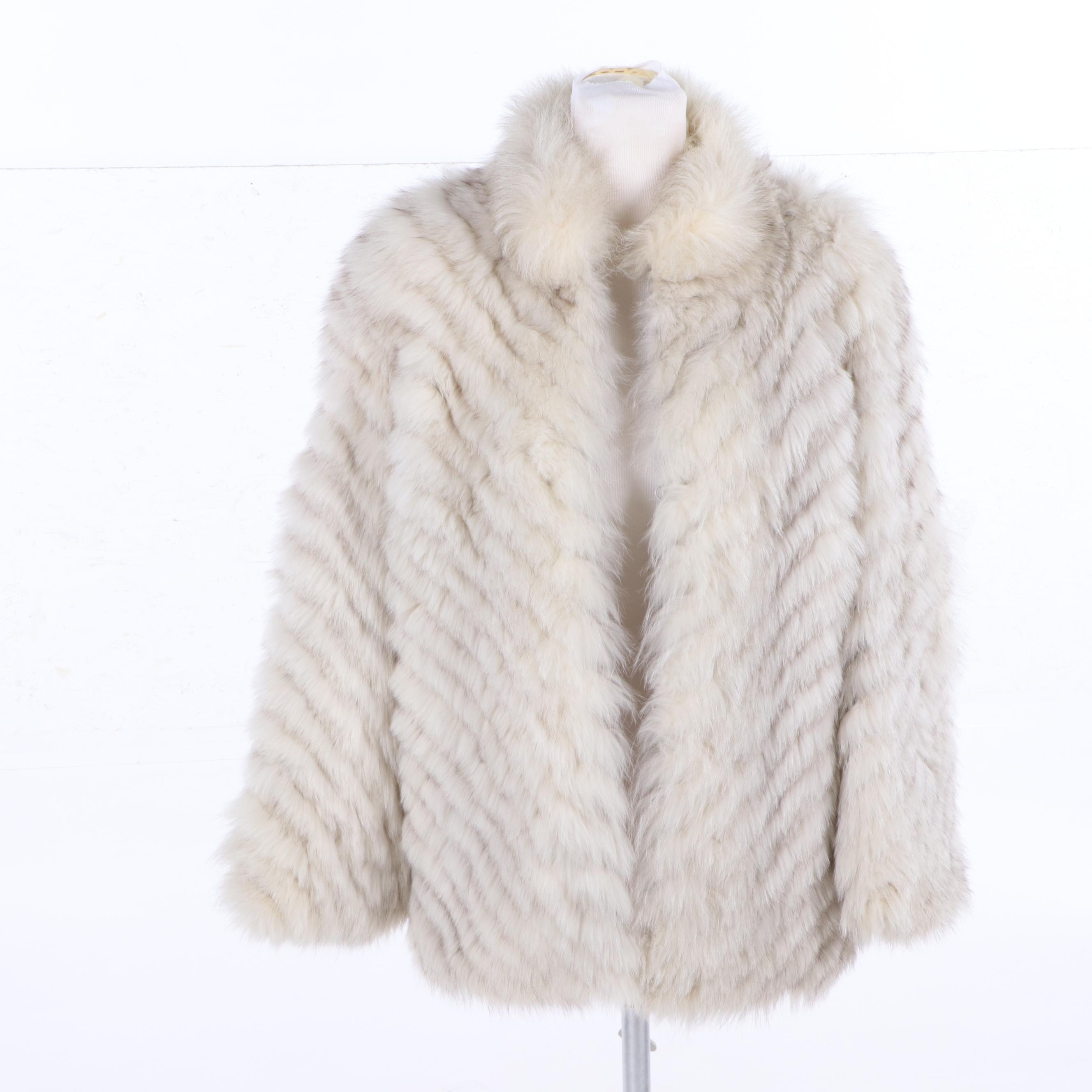 Women's Fox Fur Coat by Saga Fox
