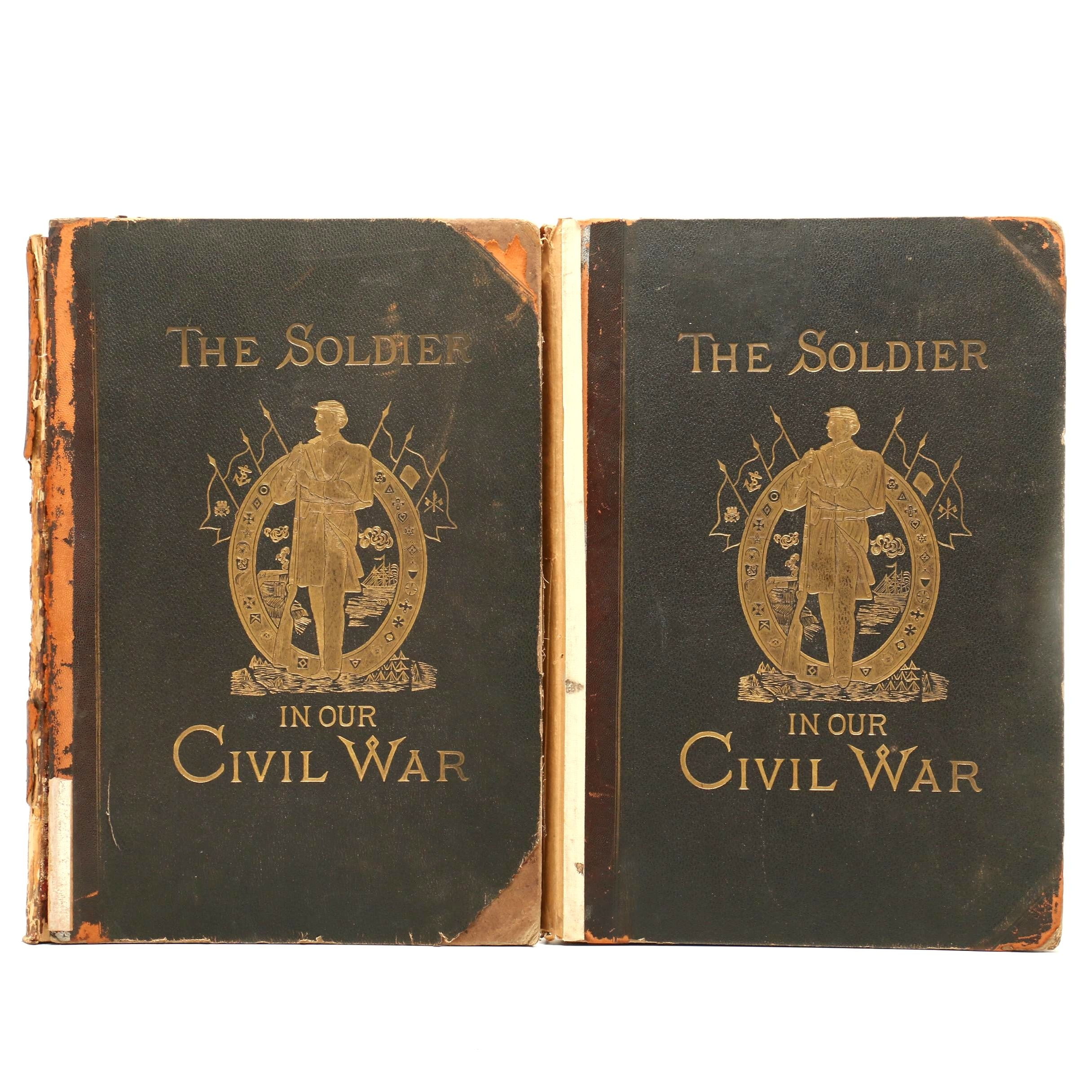 "1884 ""The Soldier in Our Civil War"" in Two Large Volumes"