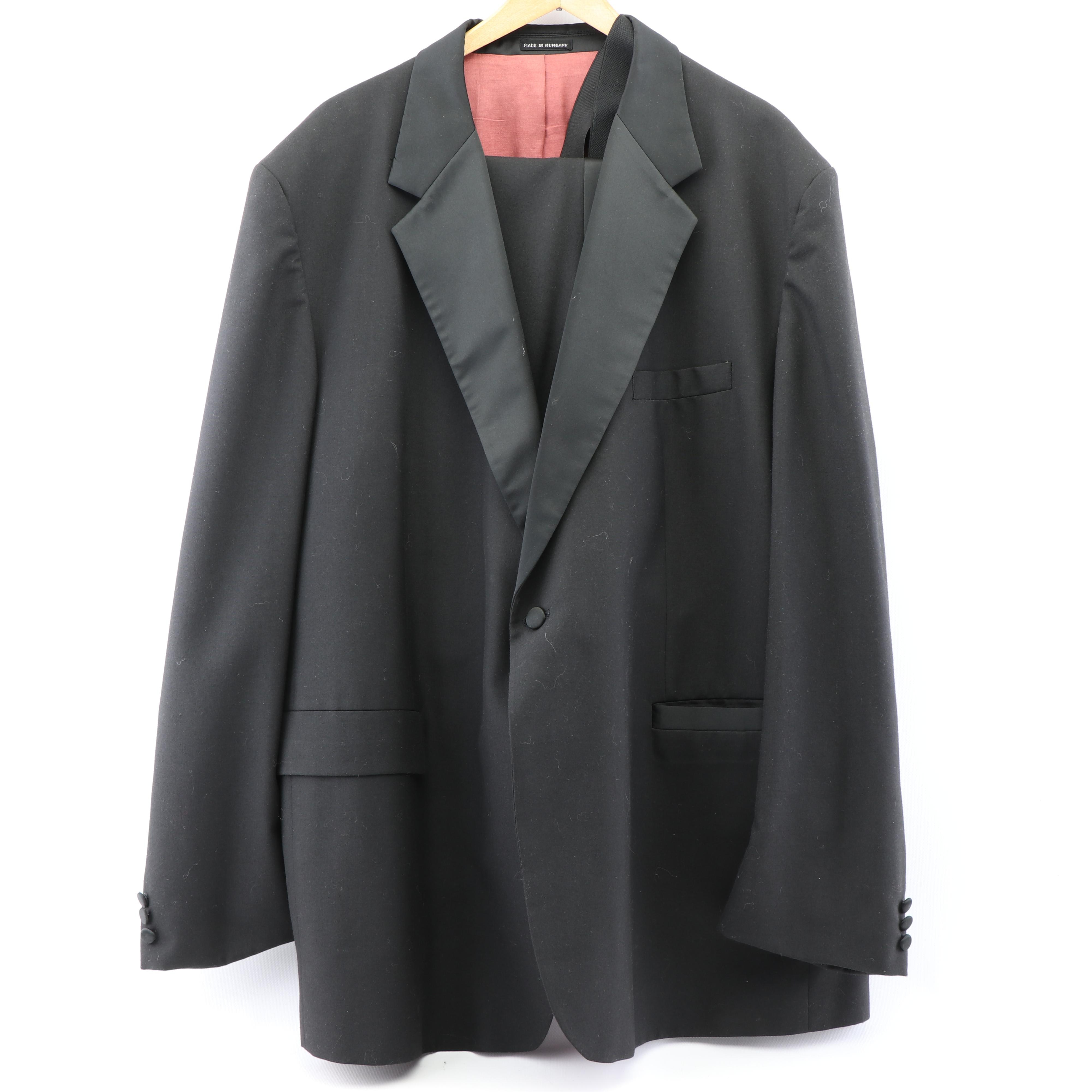 Vintage Wool Blend Tuxedo, Made in Hungary