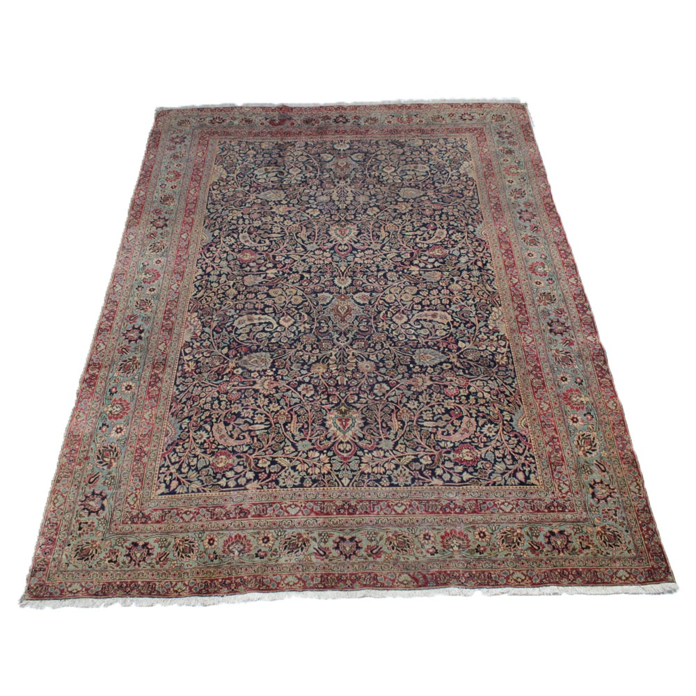 Hand-Knotted Persian Tabriz, circa 1910