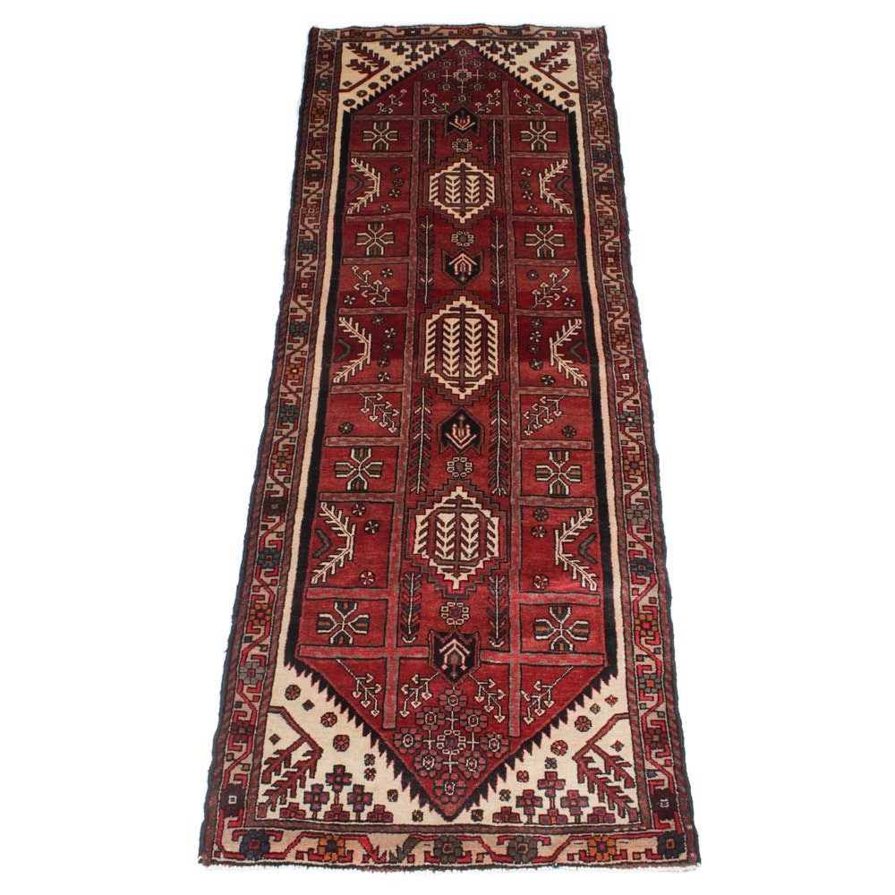 Hand-Knotted Northwest Persian Long Rug