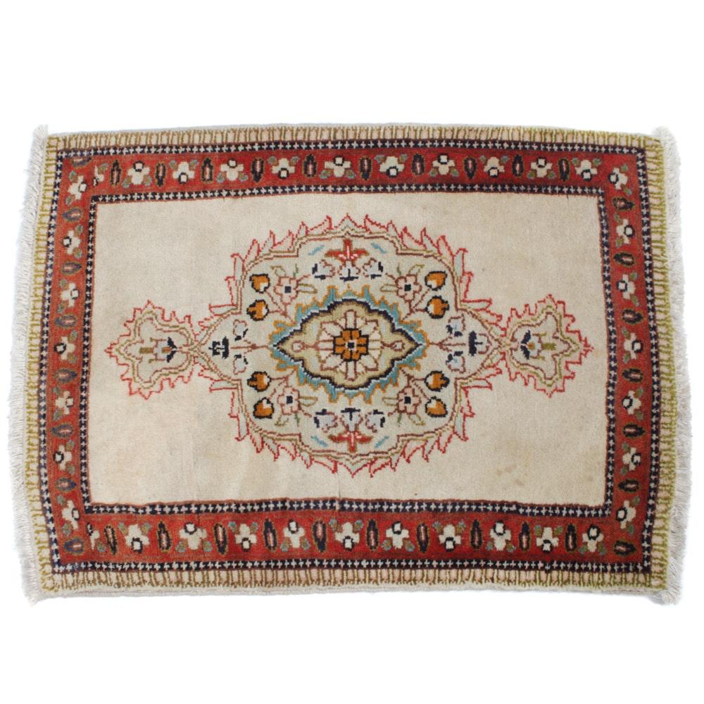 Hand-Knotted Persian Tabatabai Tabriz Rug