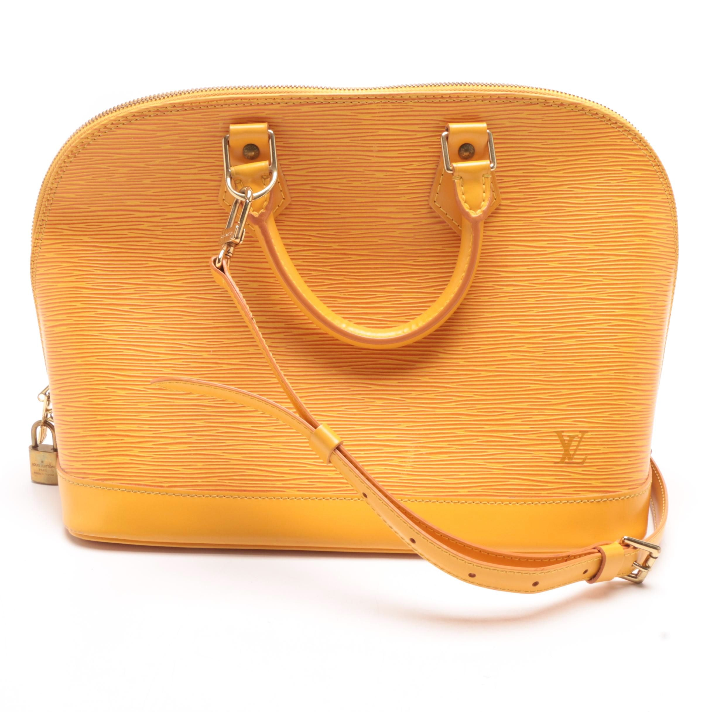 1998 Louis Vuitton Paris Mandarin Epi Leather Alma