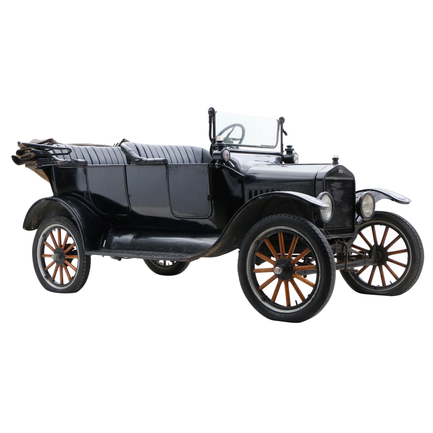 1920 Ford Model T Touring Car and Trailer