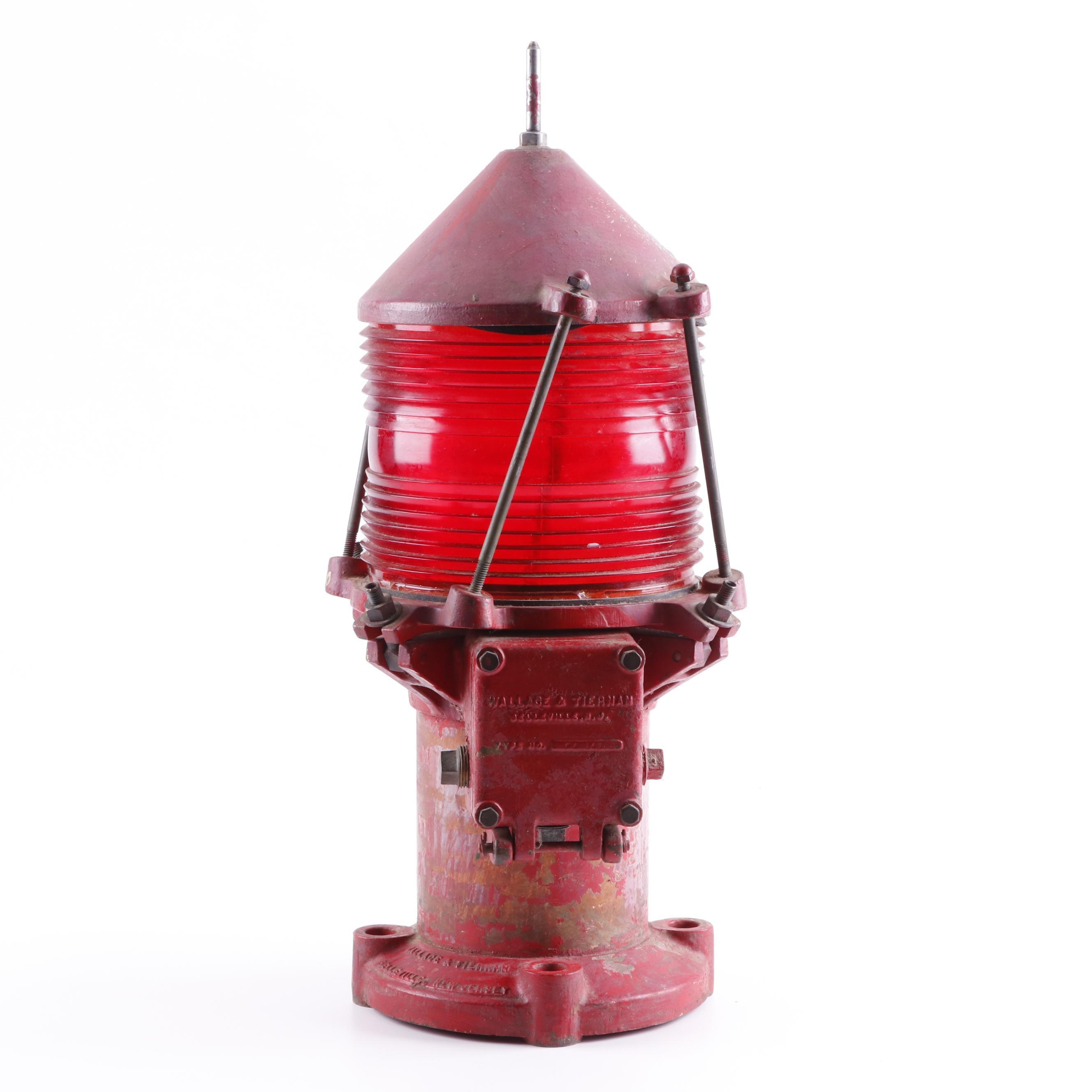 Wallace & Tiernan Nautical Buoy Light