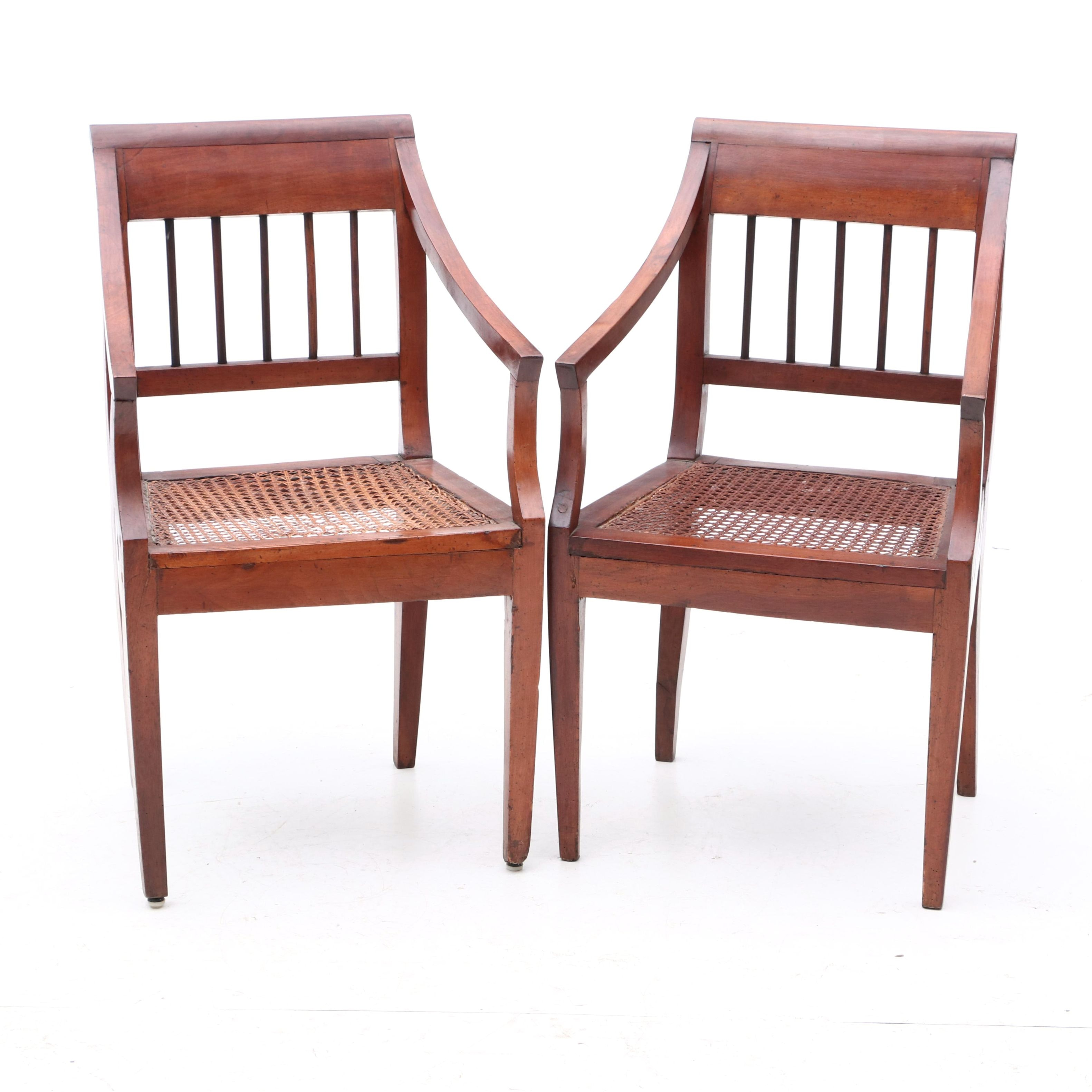 Pair of Early 19th Century Armchairs
