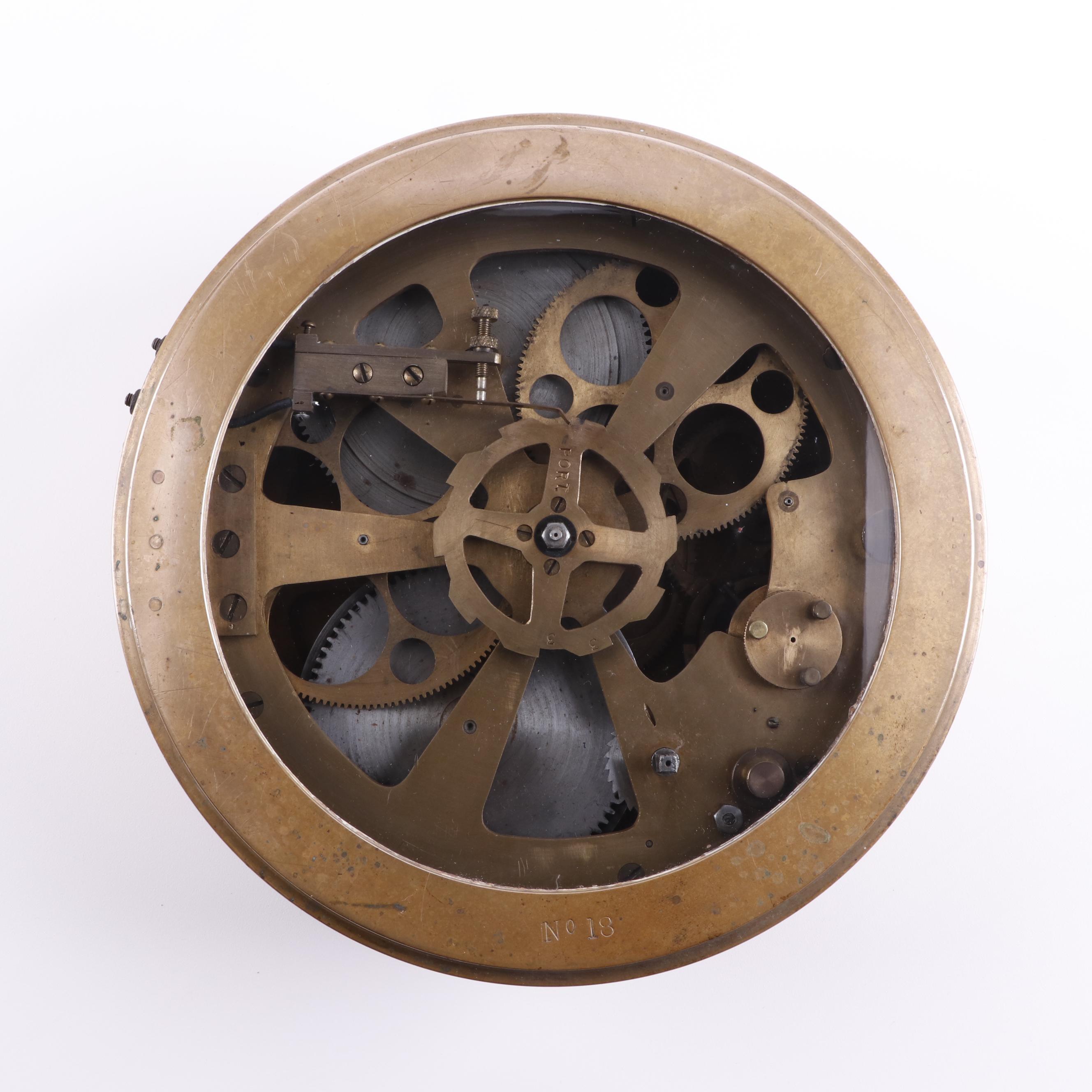 Brass Marine Chronometer