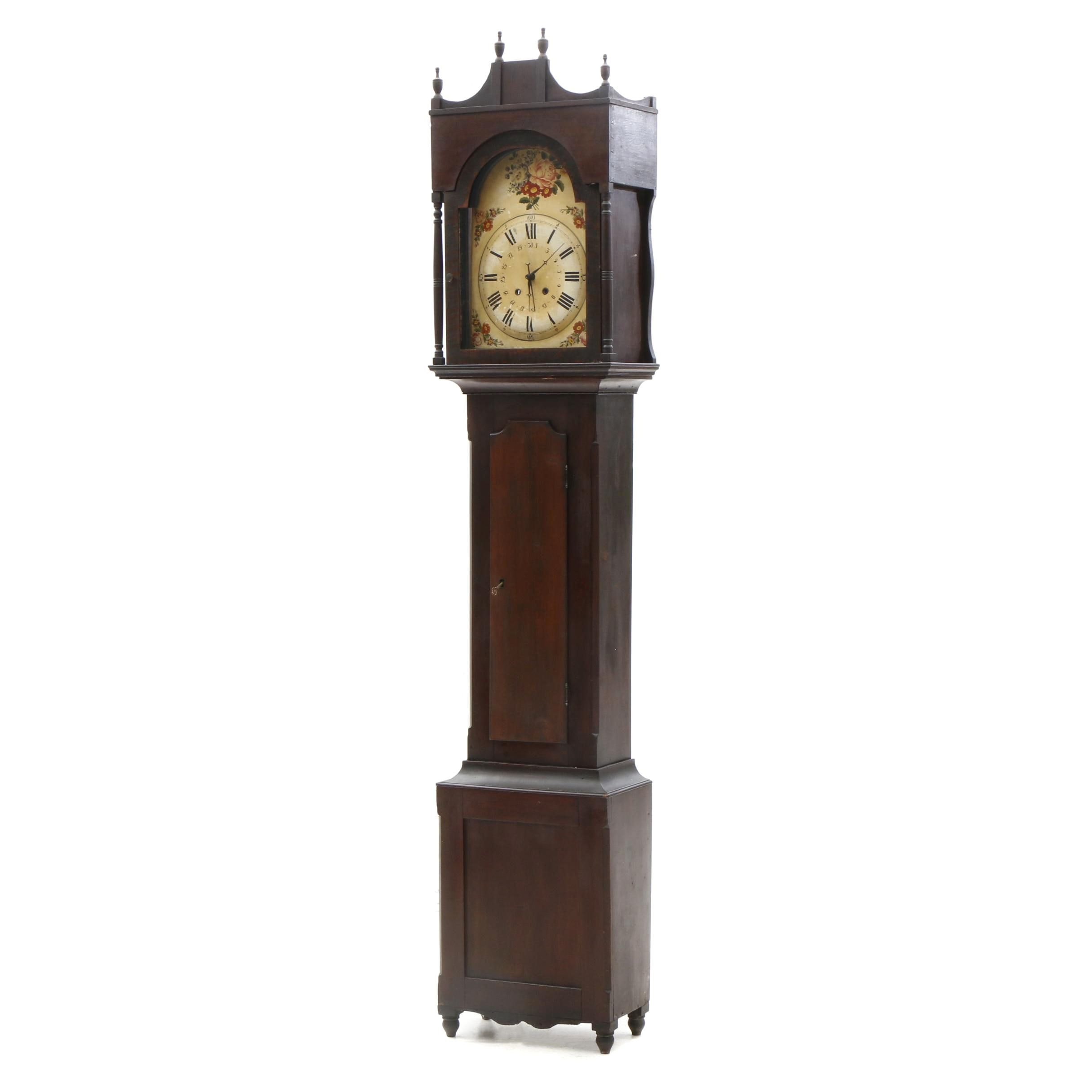 American Tall Case Clock, Early 19th Century