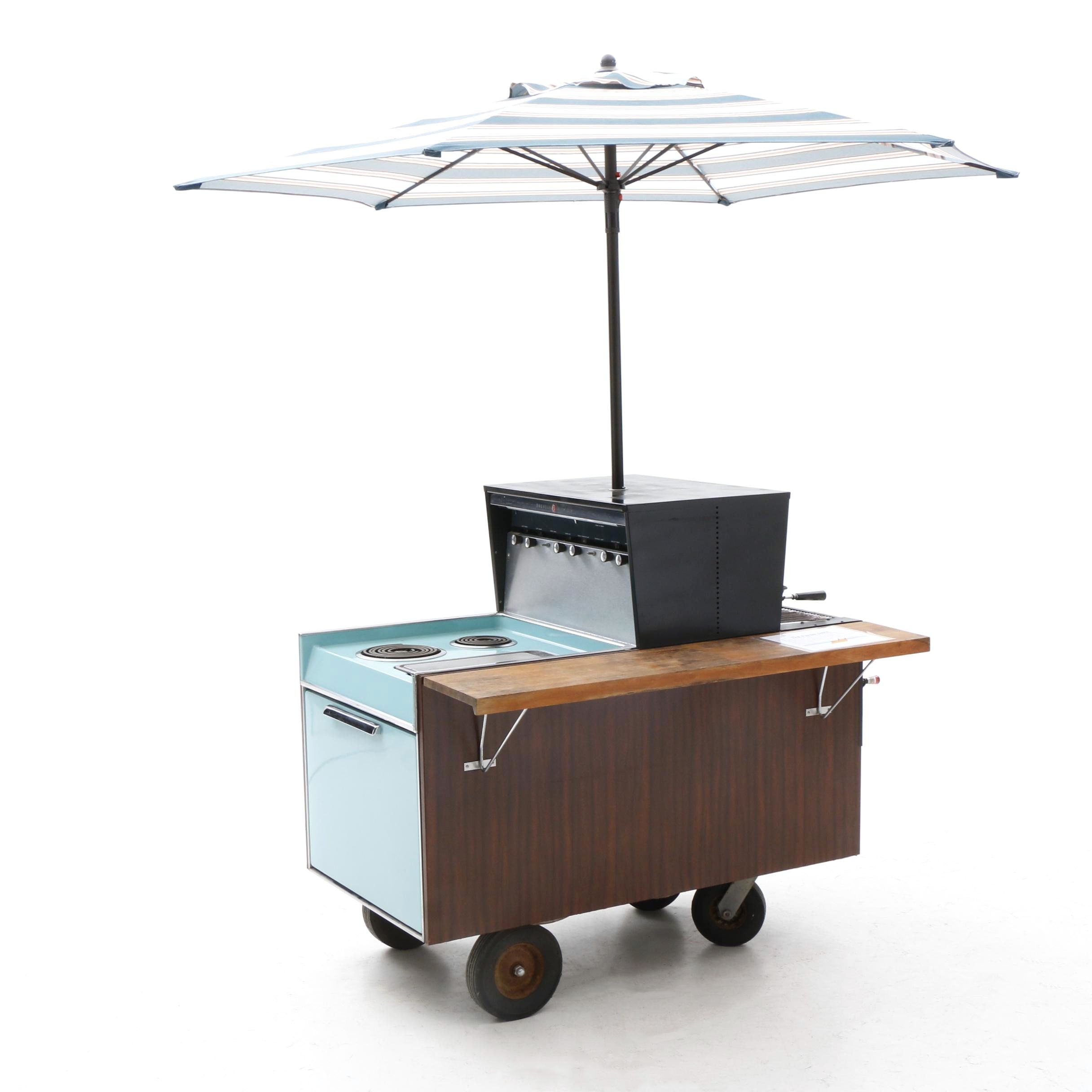 "1956 General Electric ""Partio Cart"""
