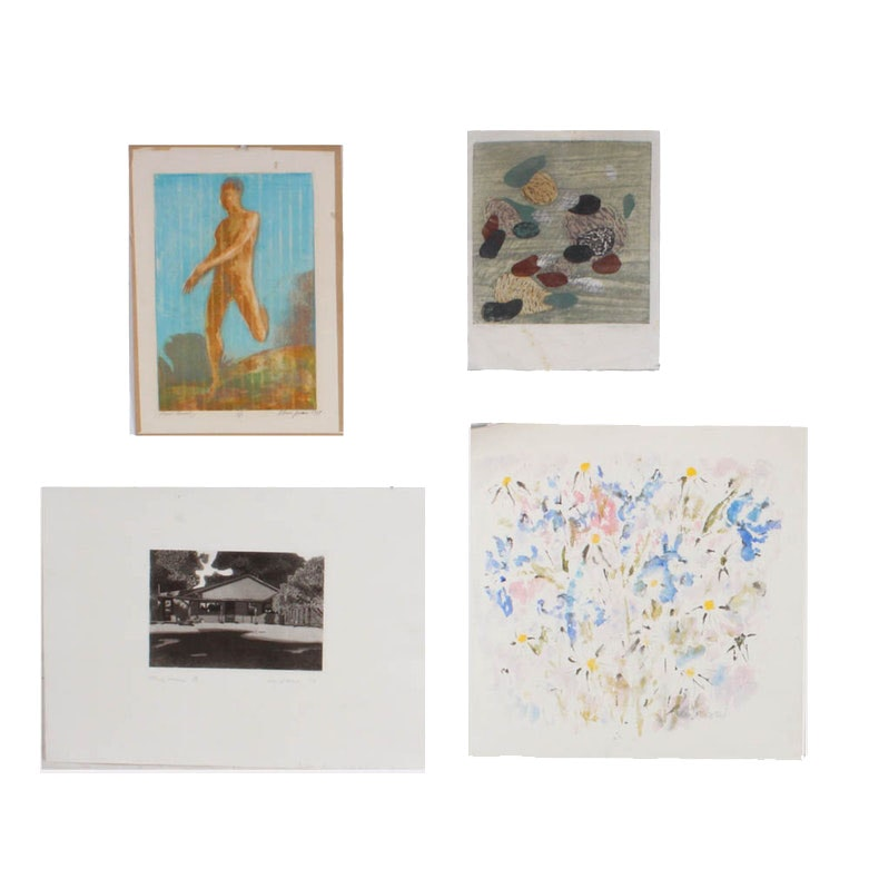 Ohio University Print Exchange Portfolio, 20th Century