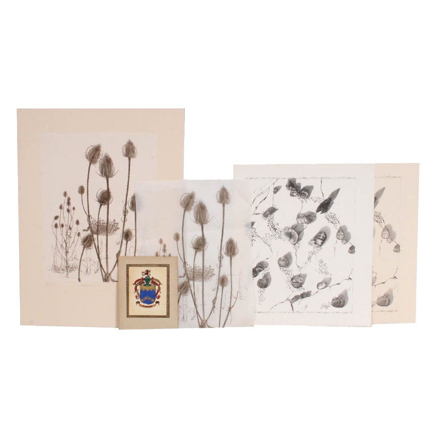 June Carver Roberts Portfolio of Prints