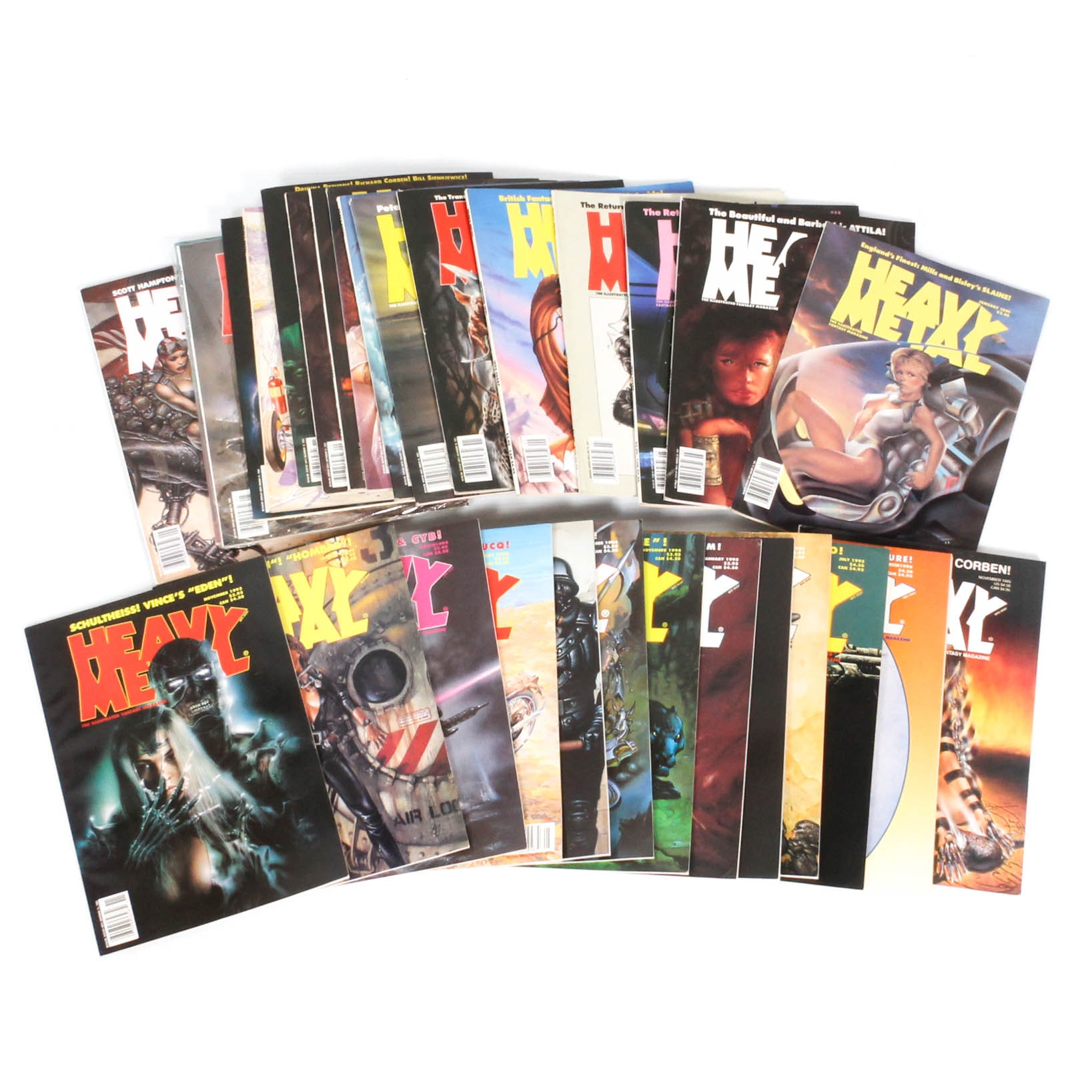 "1991-1995 ""Heavy Metal"" Issues"