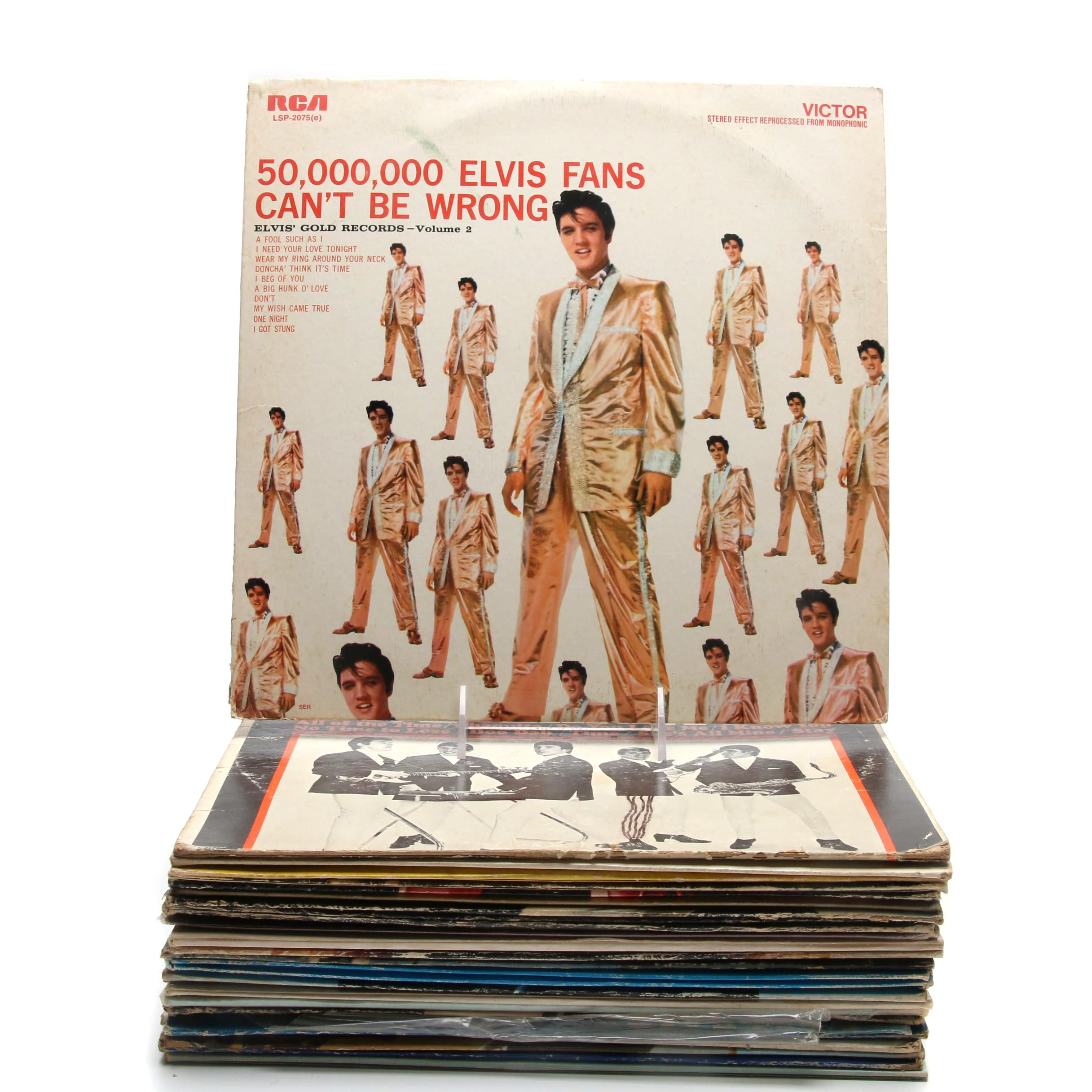 1950s-1960s Elvis Presley Records and More