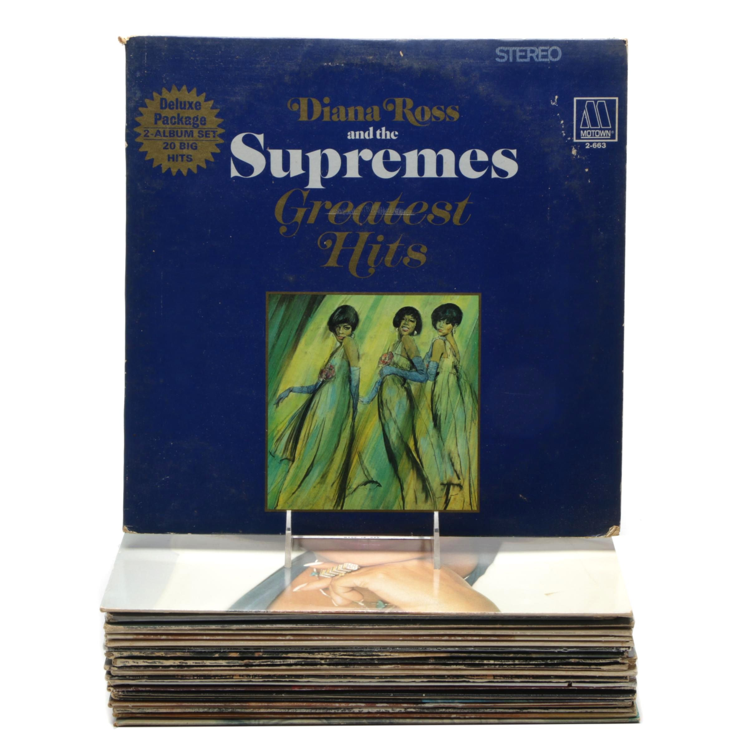 R&B, Soul and Jazz Records Including Aretha Franklin, Robert Flack and More