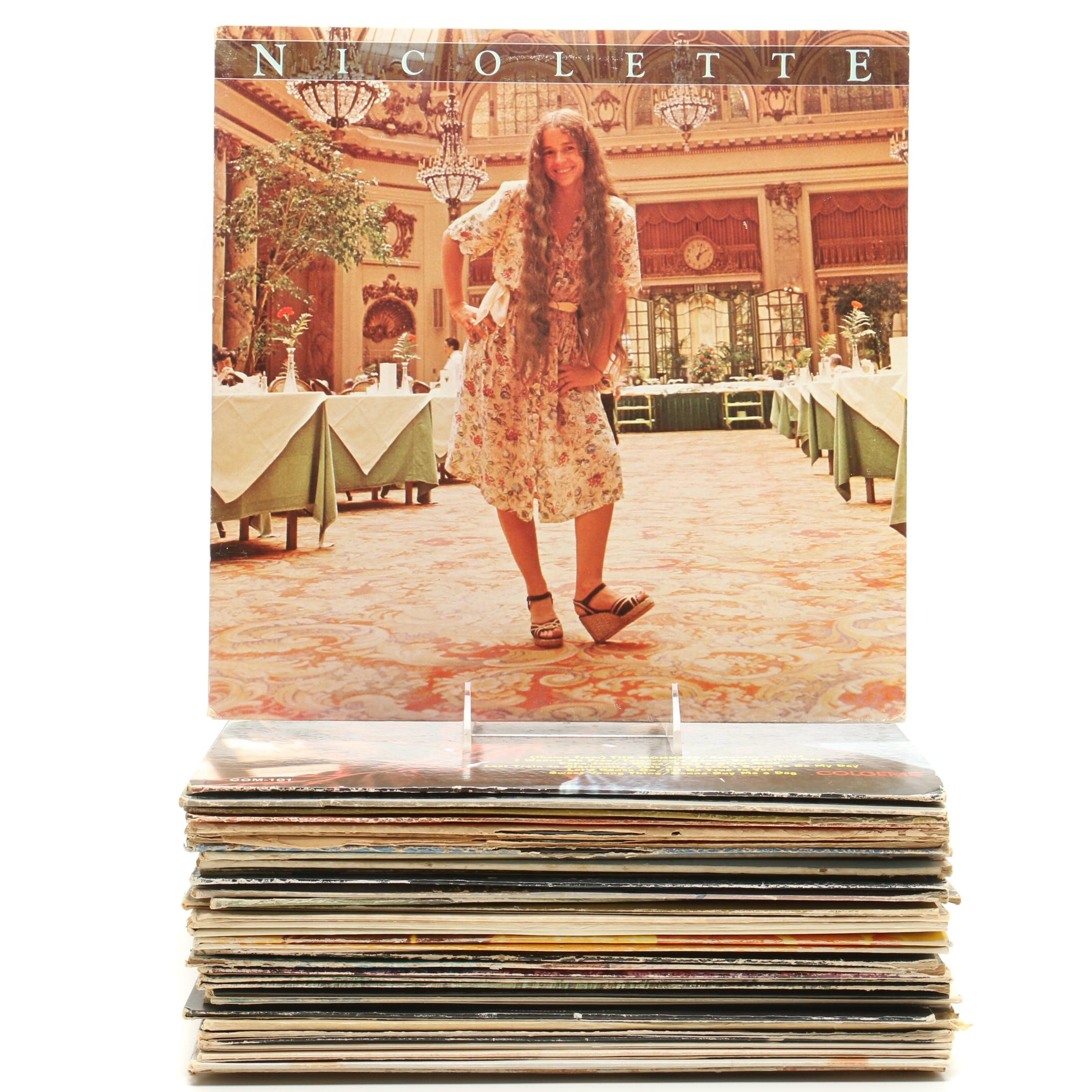 Rock and Folk Records Including The Monkees, Mamas and Papas and More