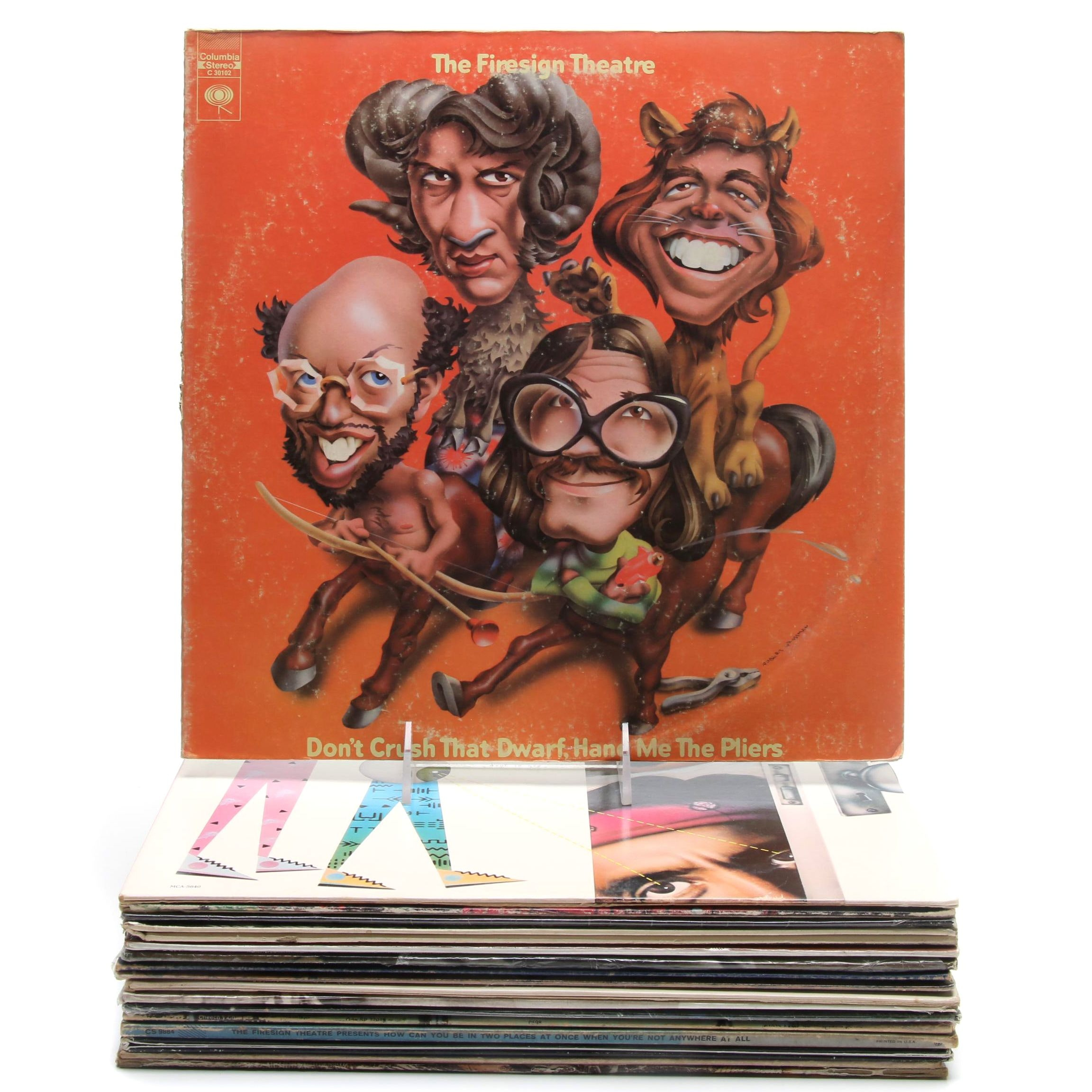 Comedy and Country Records Including Cheech & Chong, Wry Straw and More