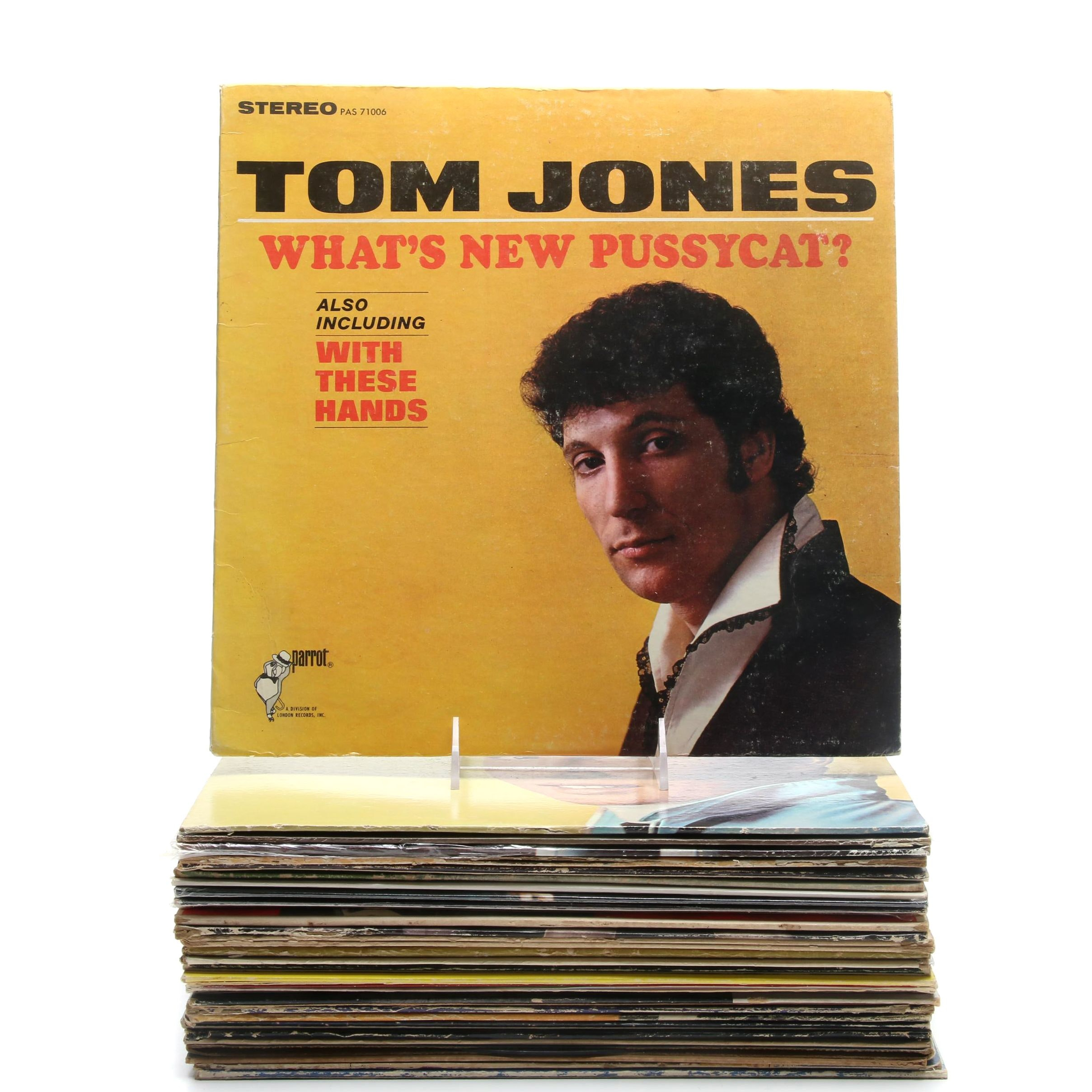 Pop, Jazz and Rock n' Roll Records Including The Monkees and Nat King Cole