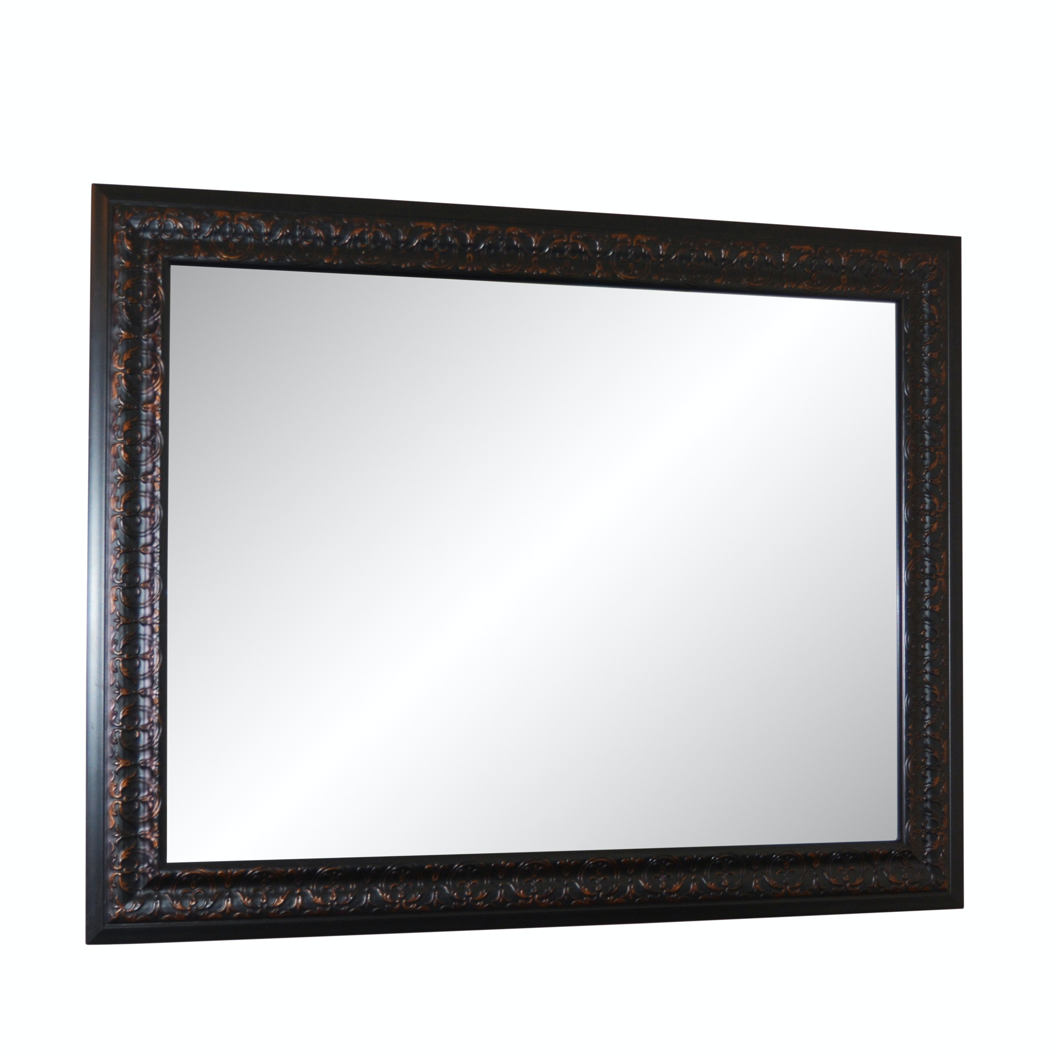 Rectangular Beveled Wall Mirror
