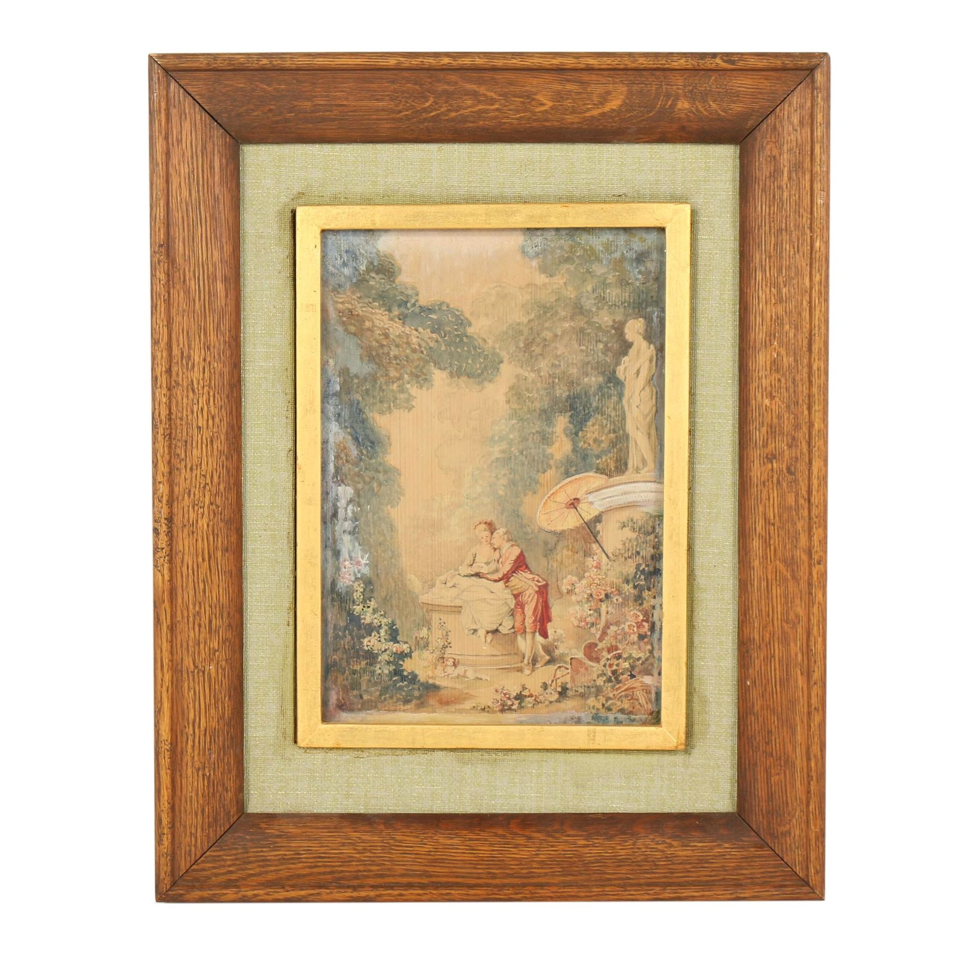 Color Lithograph after Jean-Honore Fragonard