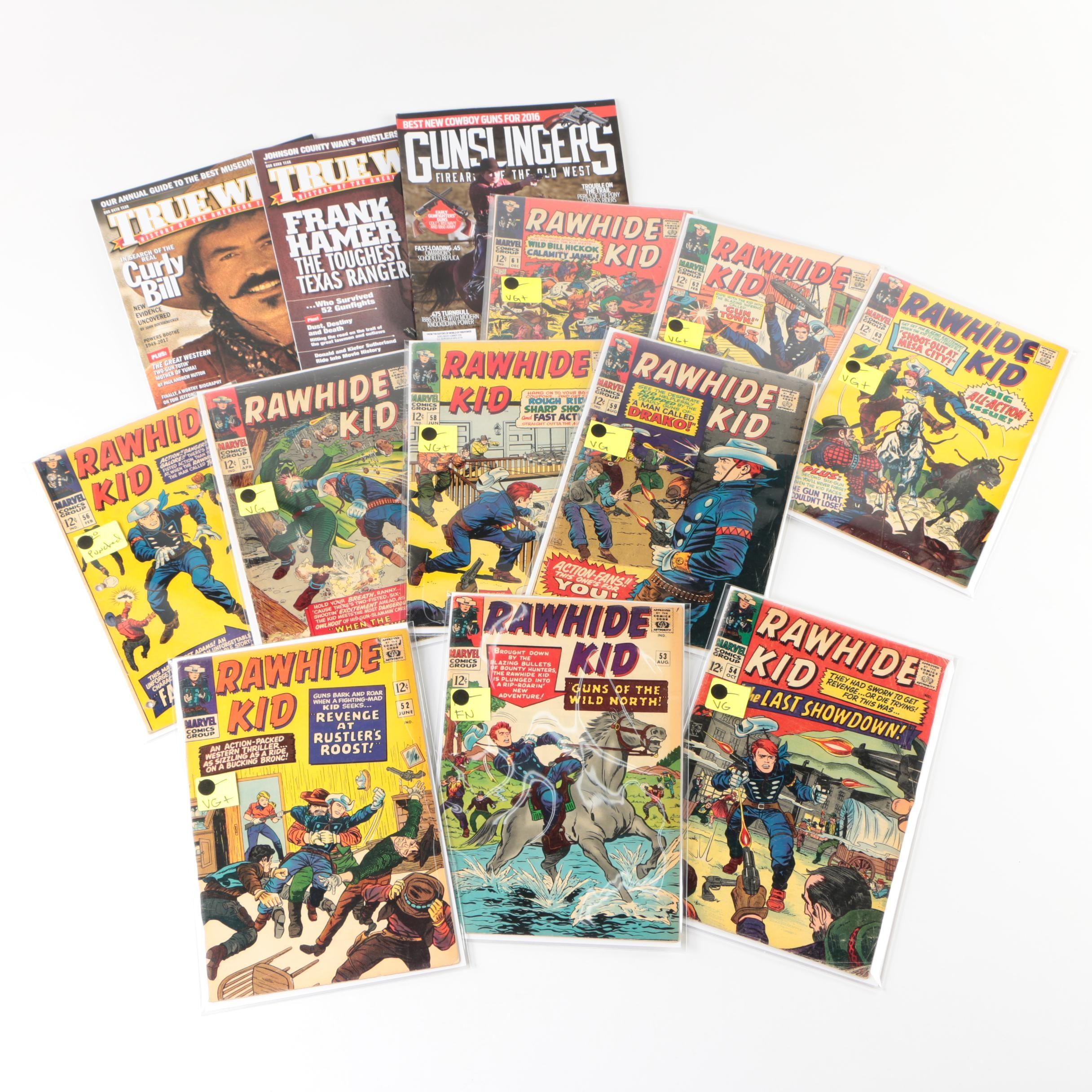 """Rawhide Kid"" Comics with Western Magazines"