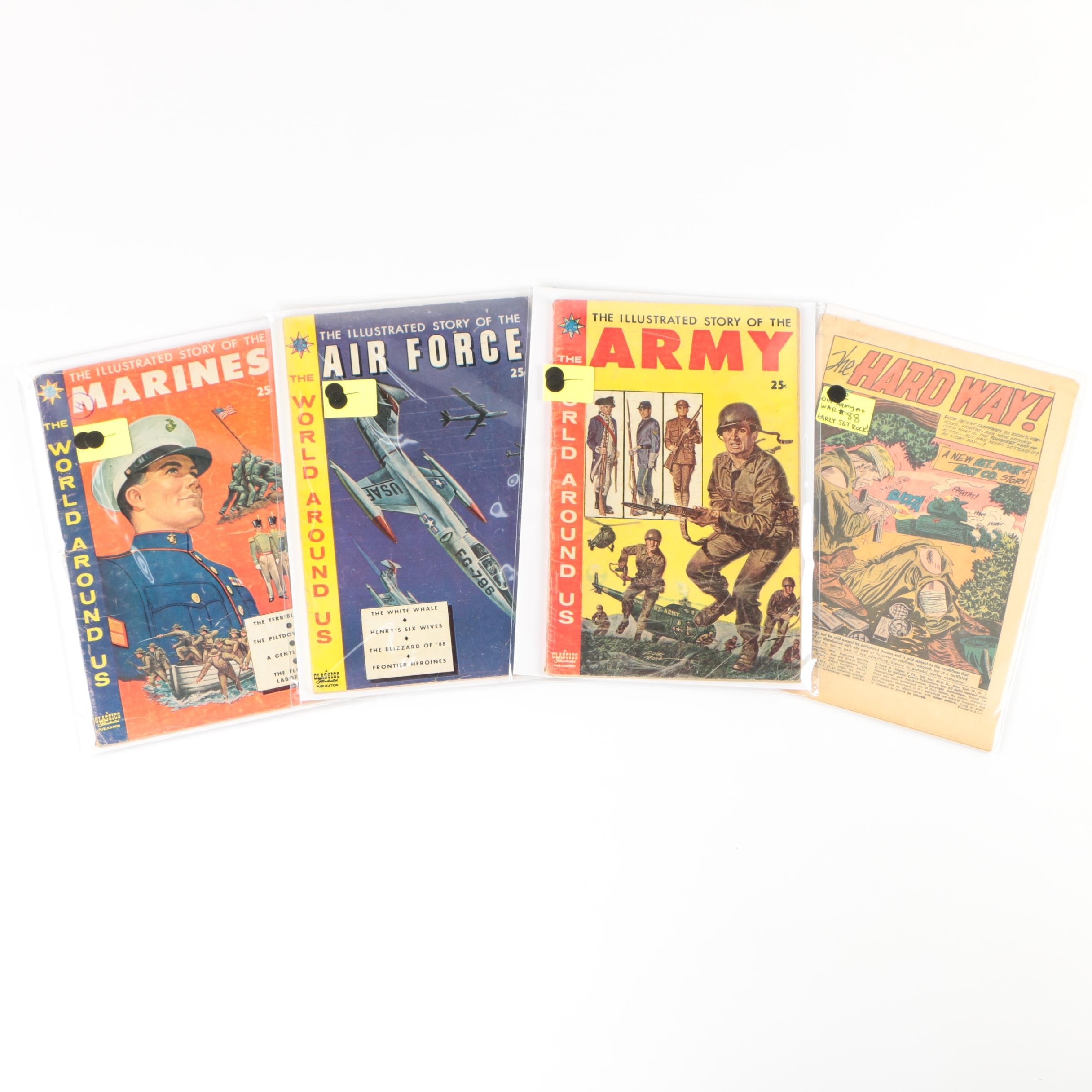 """The World Around Us"" Comic Books and ""The Hard Way"" Issue, 1950s"