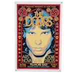 "David Edward Byrd Giclée ""The Doors - Fillmore East -1968"""
