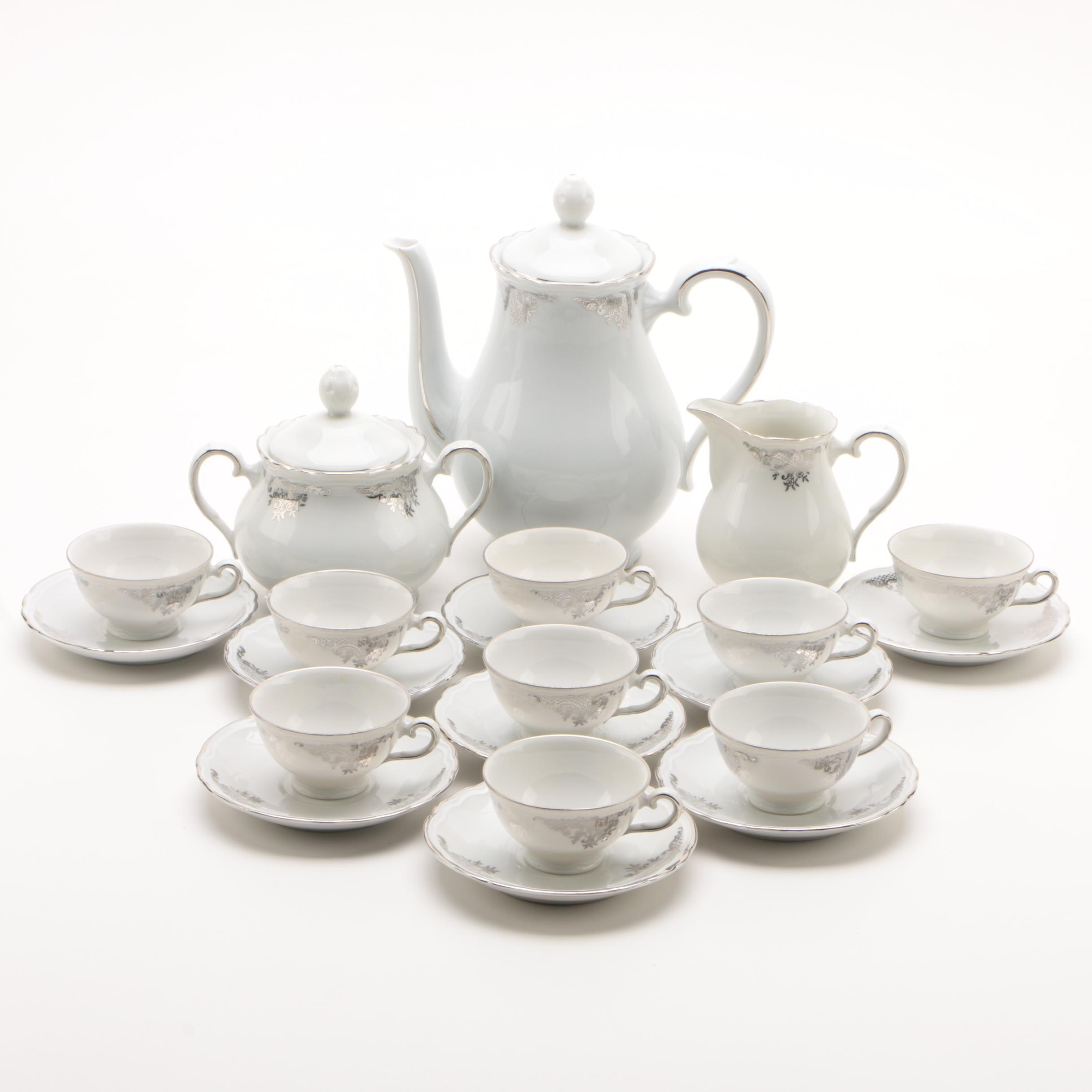 Richard Ginori Porcelain Coffee Service