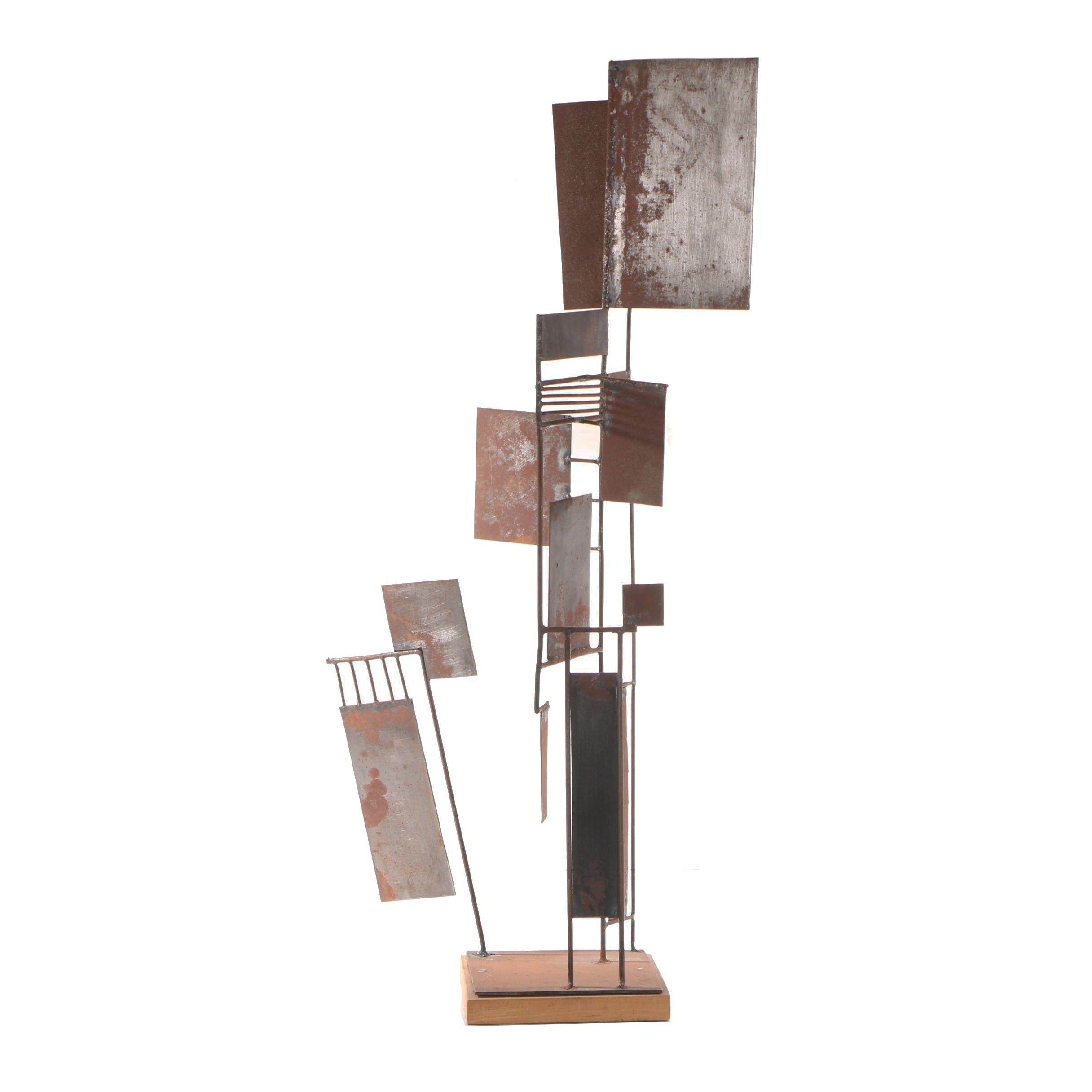 John Tuska Metal Sculpture