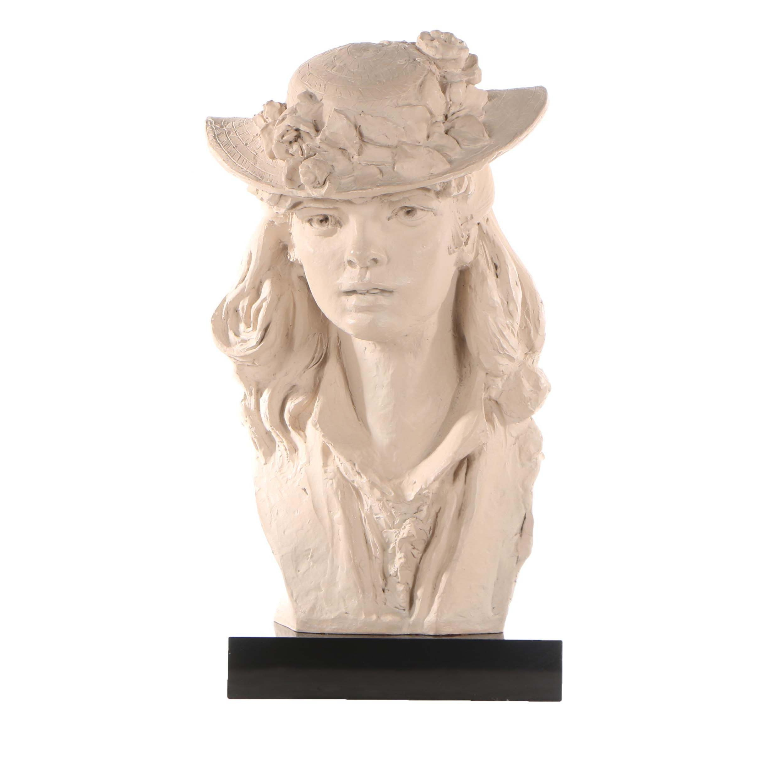 "Austin Productions Resin Sculpture after Rodin ""Rose Beuret"""