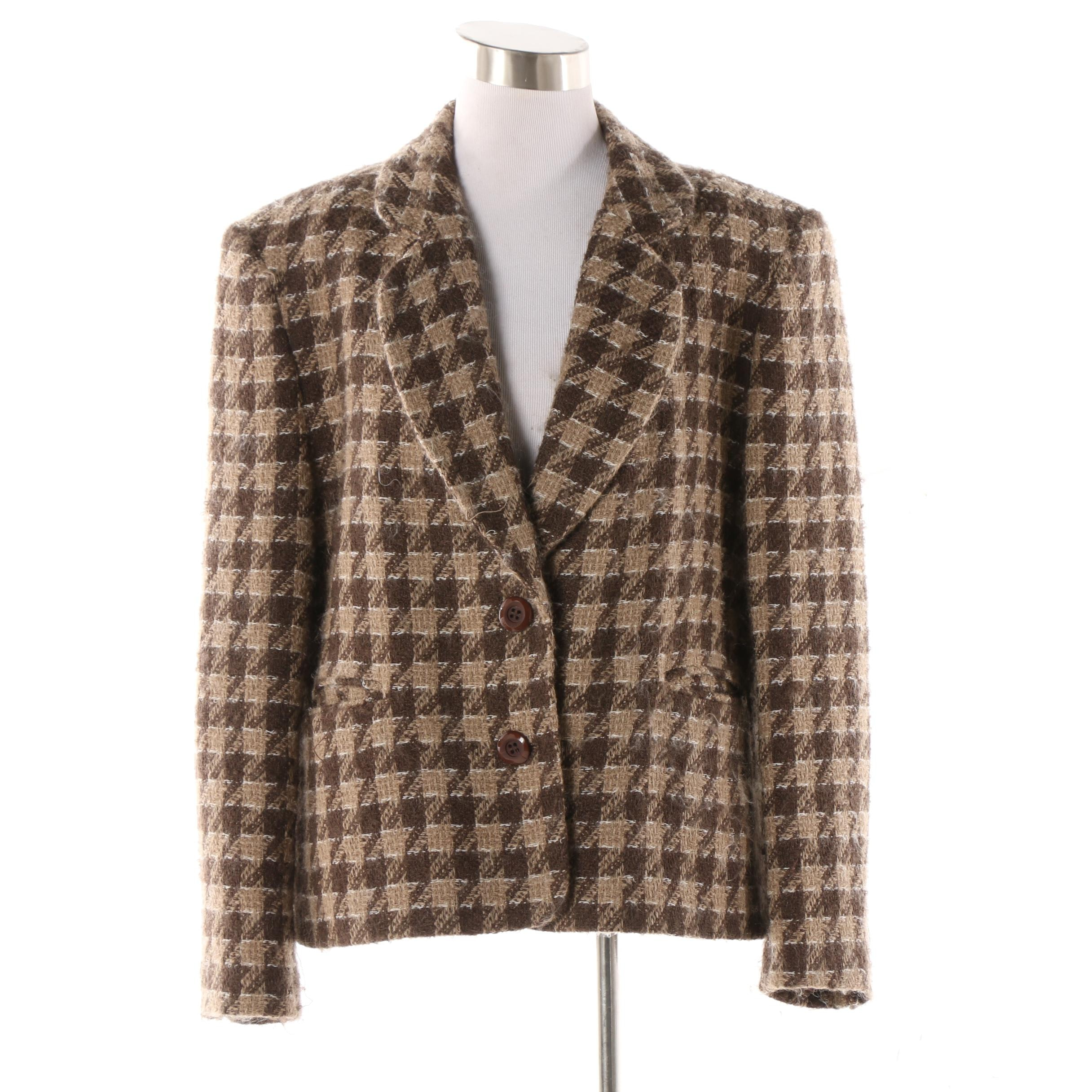 Women's Bleyle Wool and Mohair Blend Jacket