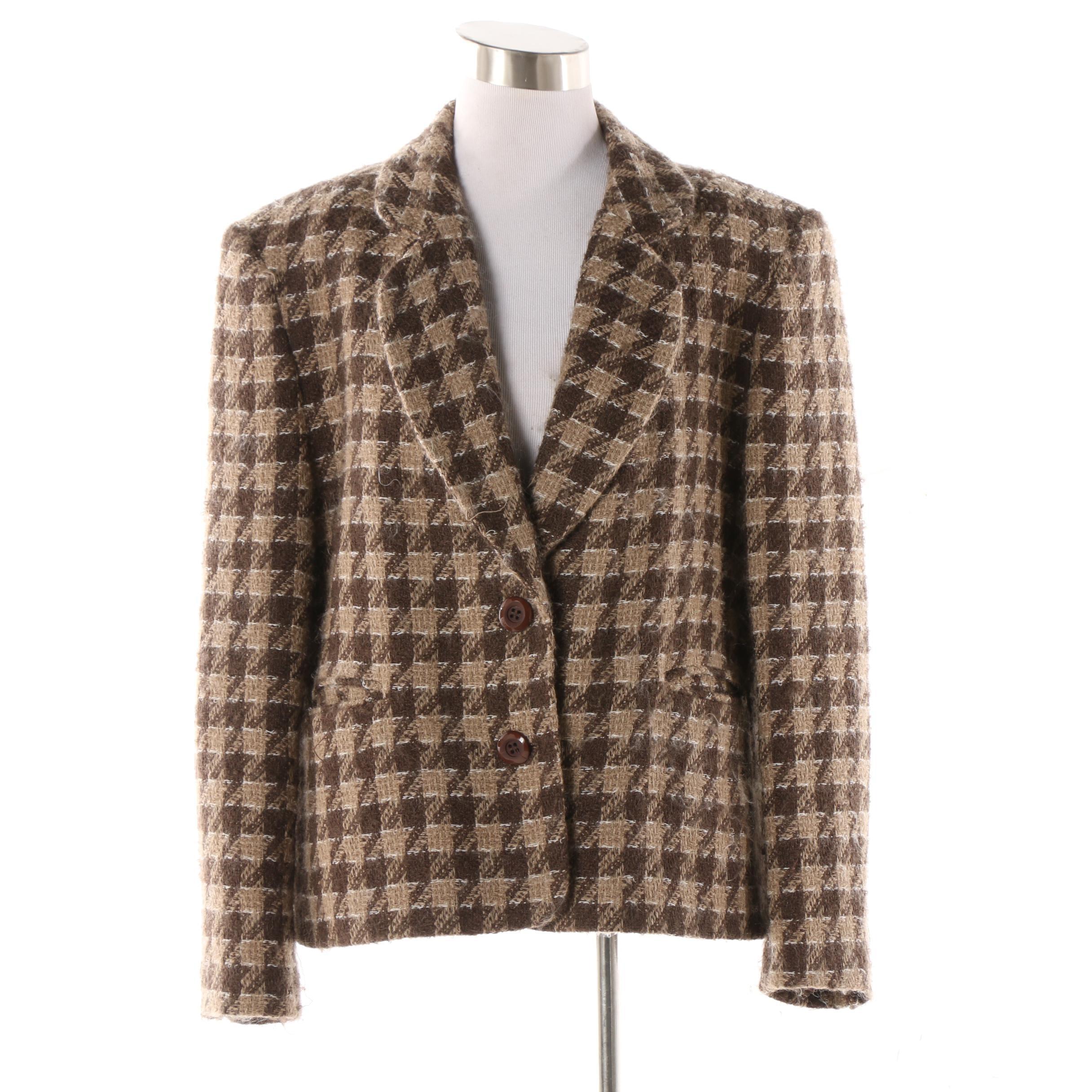 Women's Bleyle Wool and Mohair Blend Jacket