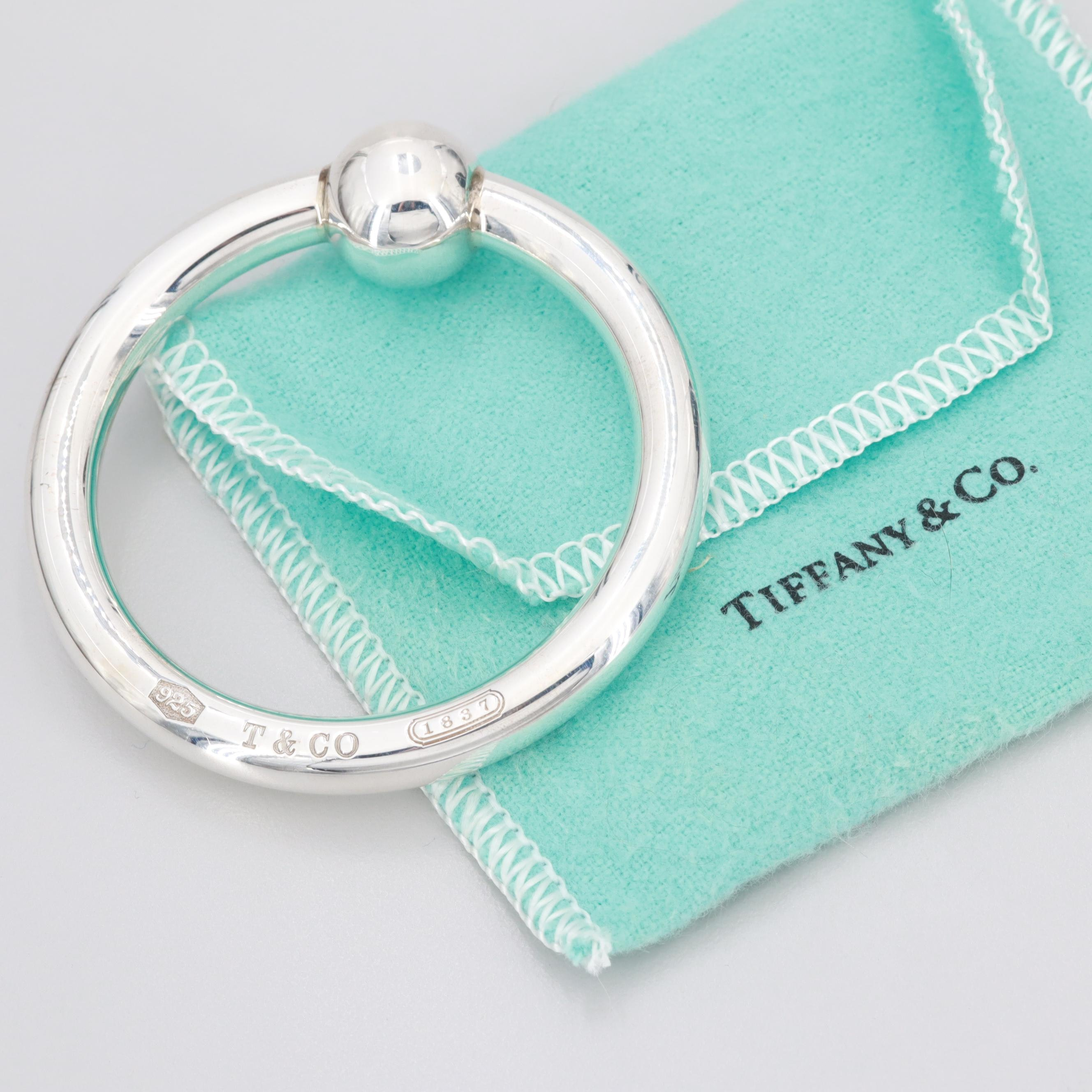 Tiffany & Co. Sterling Silver Teether/Rattle