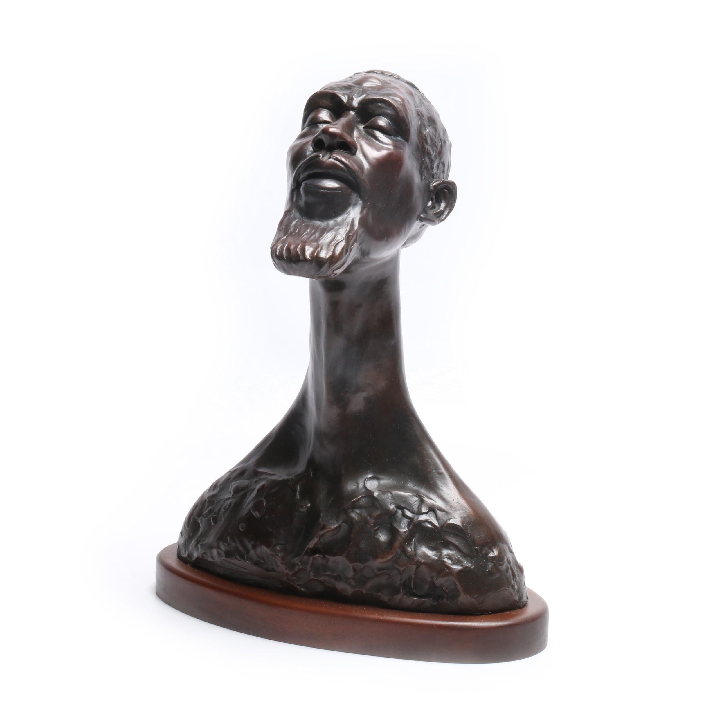 J. Leontakianakis Cast Bronze Sculpture