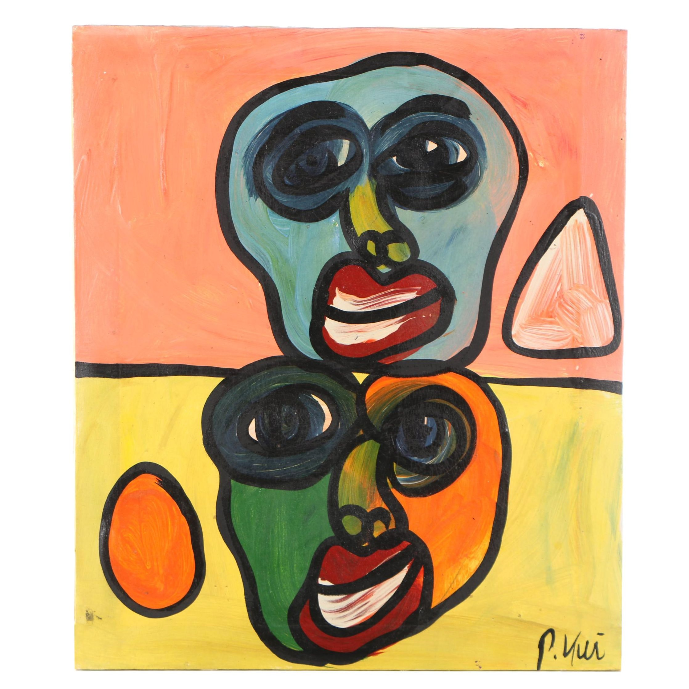 Peter Keil Abstract Acrylic Painting