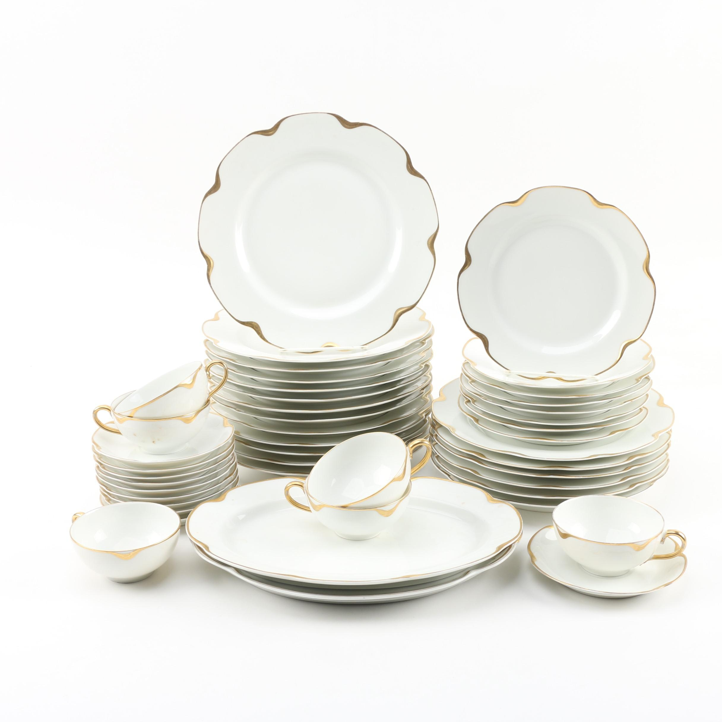 "Haviland ""Silver Anniversary"" Porcelain Dinnerware"