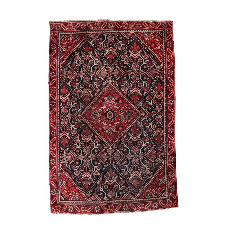 Hand-Knotted Tuisarkan Wool Rug