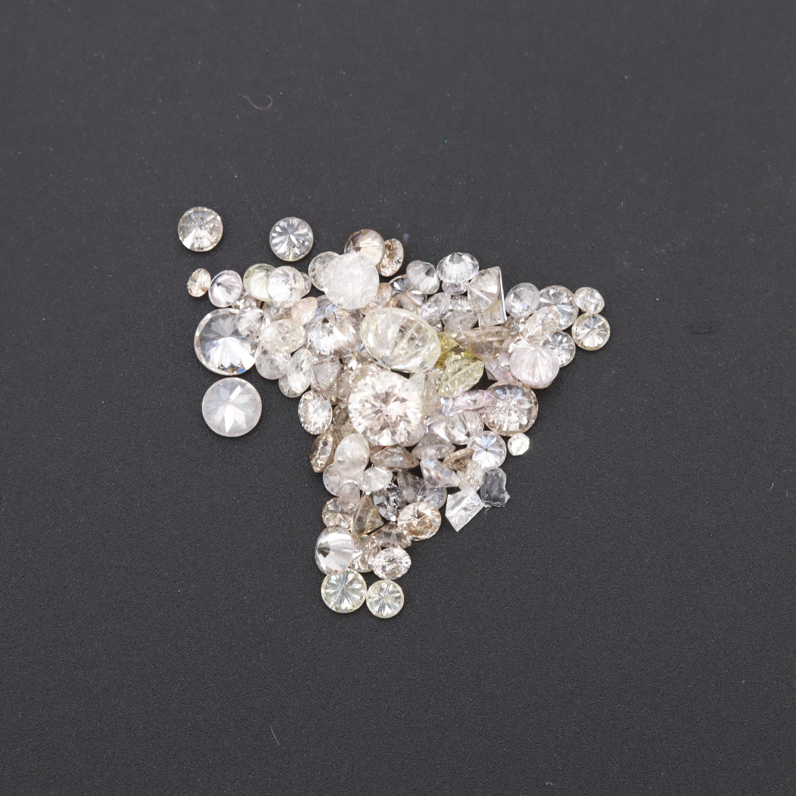 Loose 3.39 CTW Diamond Assortment