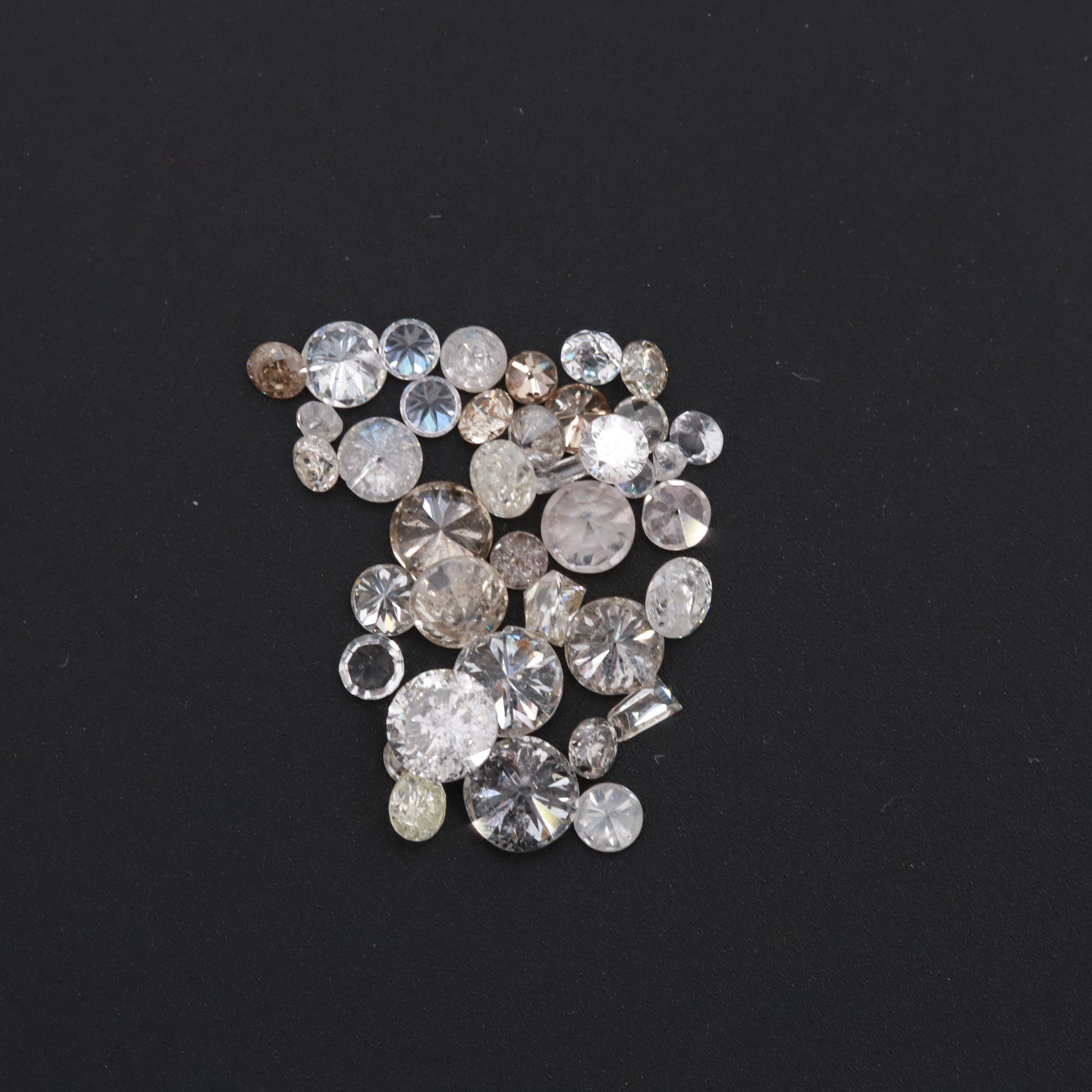 Loose 1.74 CTW Diamond Assortment