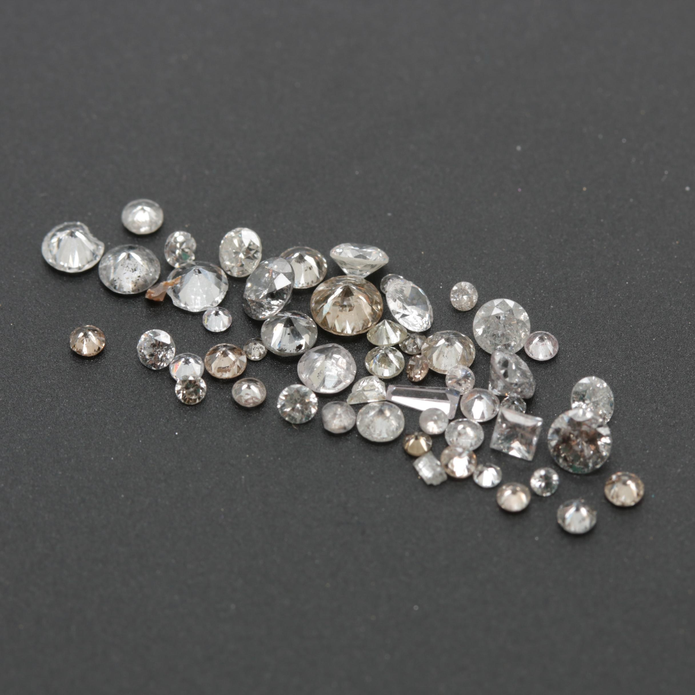 Loose 2.76 CTW Diamond Assortment