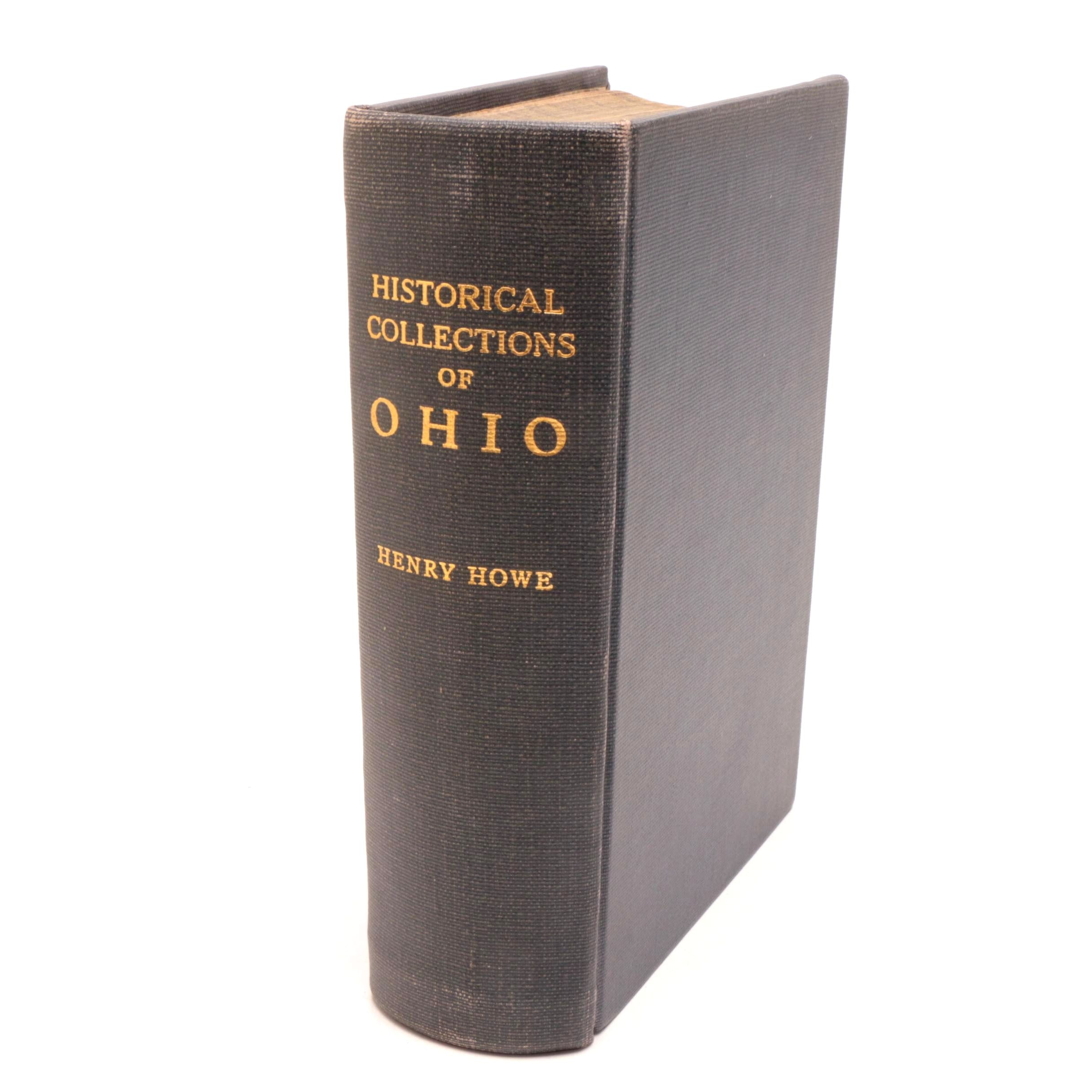 "1857 ""Historical Collections of Ohio"" by Henry Howe"